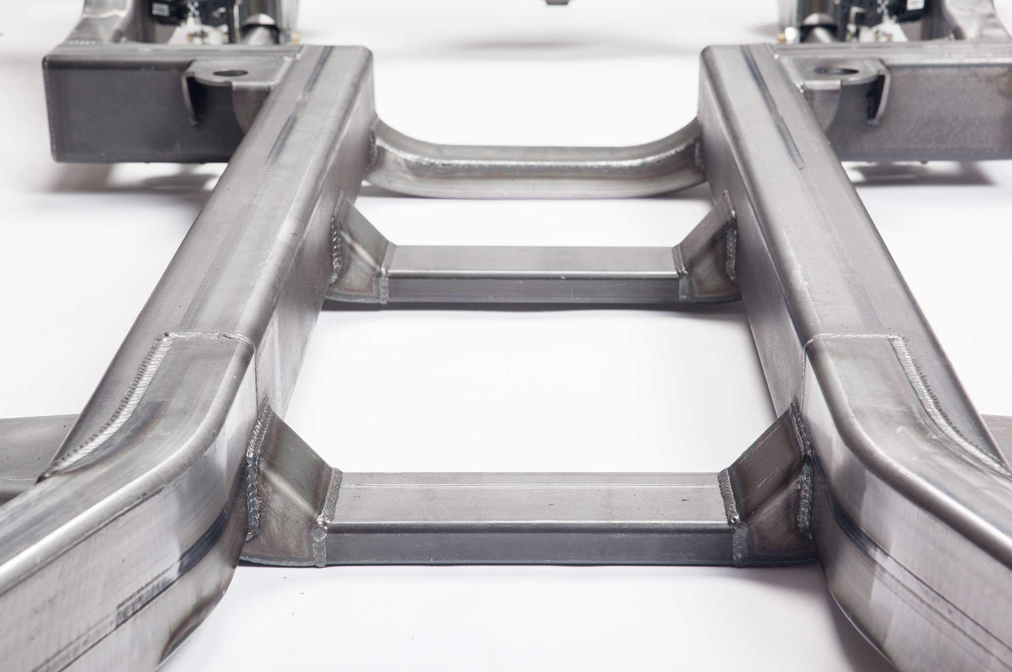 Art Morrison\'s New Frame for the 1959-1964 Impala