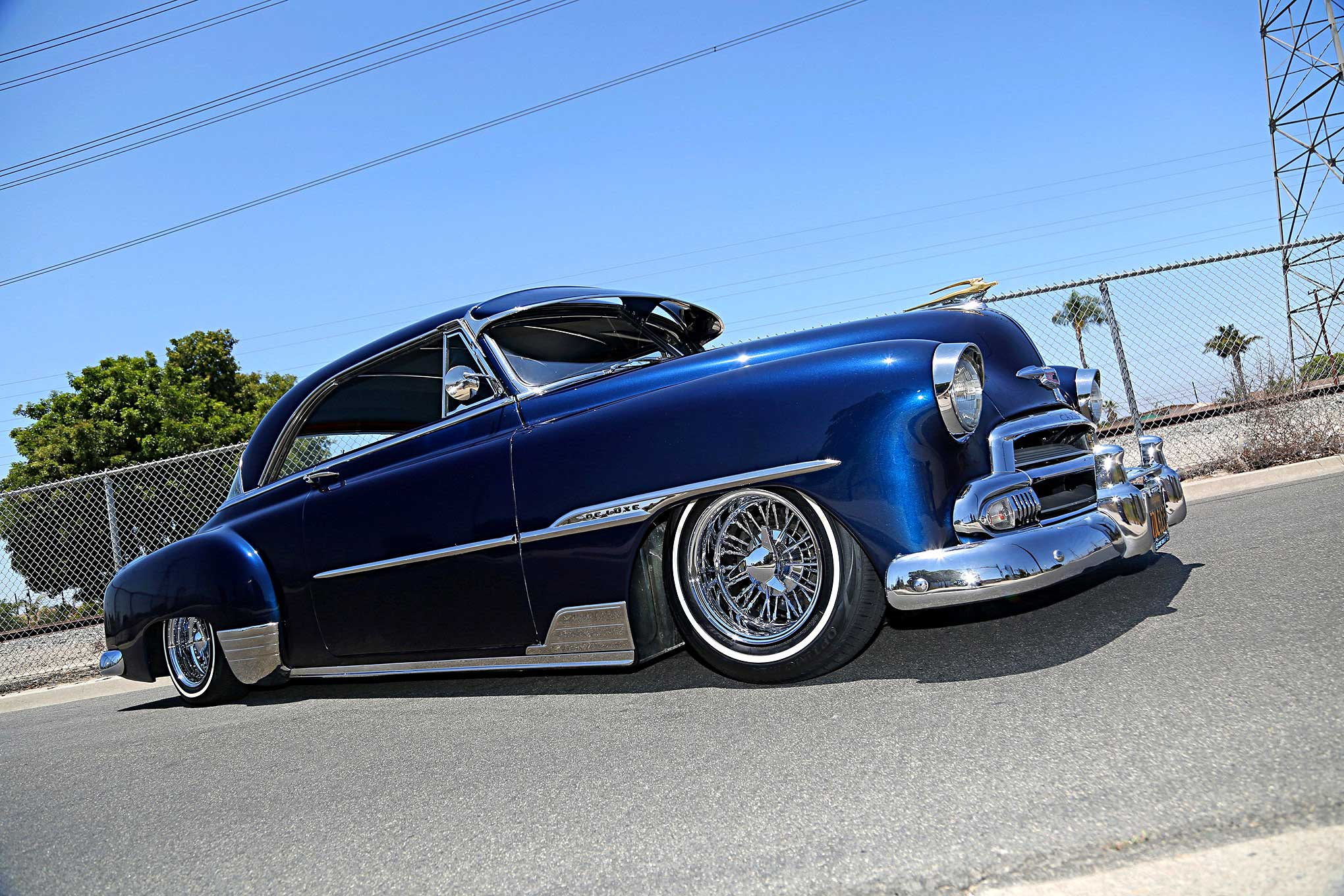 jim jurado's first love a 1951 chevy deluxe  1951 chevy styleline deluxe wiring #3