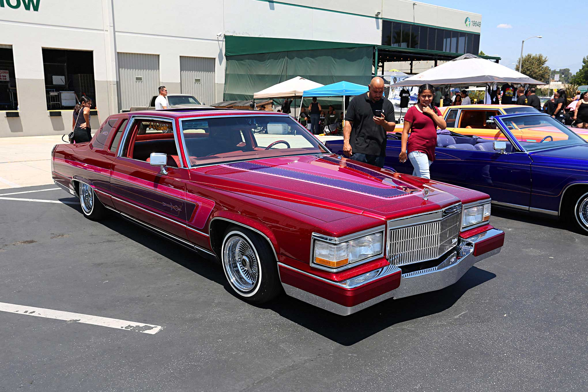 Louie Serrano 83 Cadillac Fleetwood Brougham Penger Side Front ...