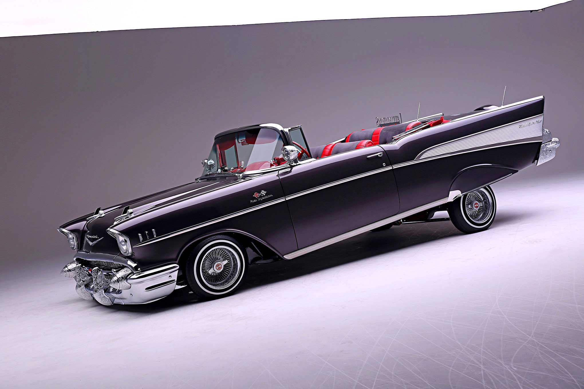 1957 Chevy Bel Air Lifes Temptations 57 Convertible Top Wiring 32 75