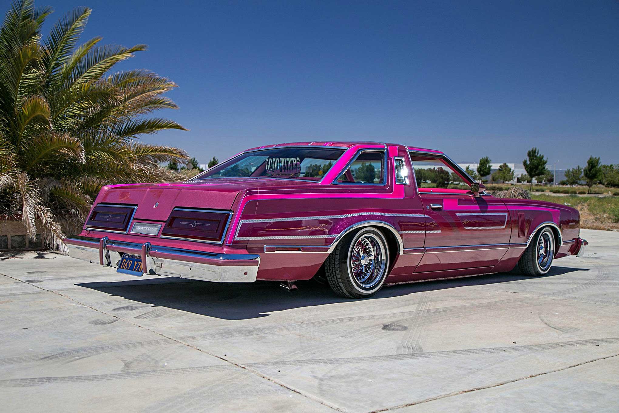 1979 Ford Thunderbird back side laid - Lowrider