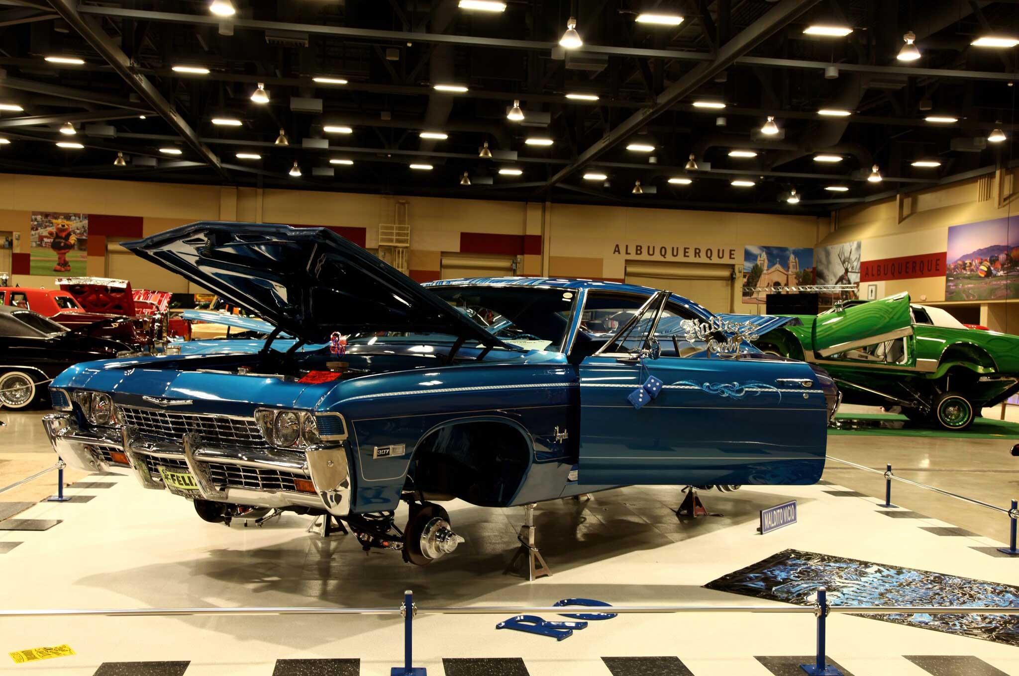 2017 lowrider albuquerque show 4th generation impala for Craft shows in albuquerque 2017
