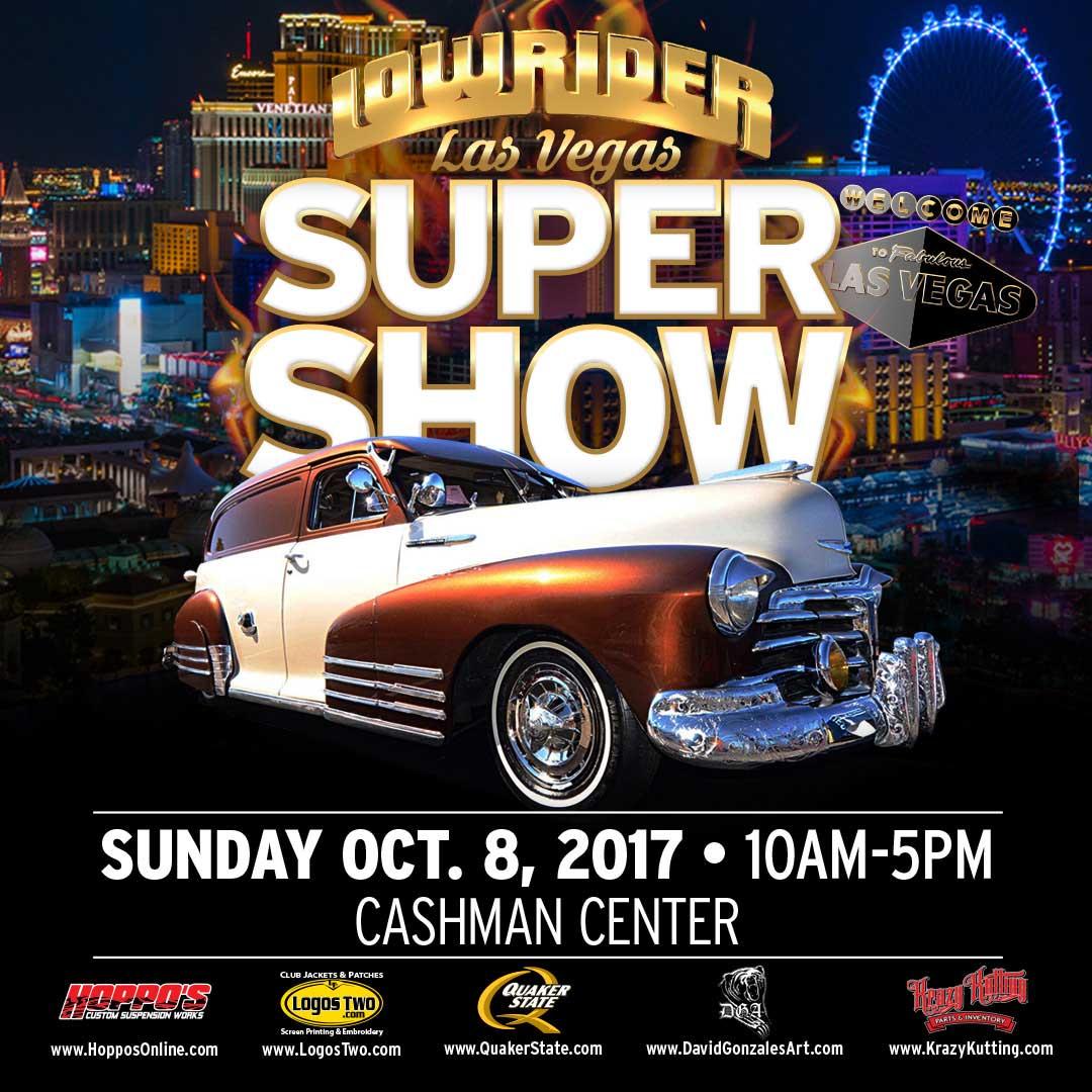 LOWRIDER Las Vegas Super Show - Lowrider car show las vegas