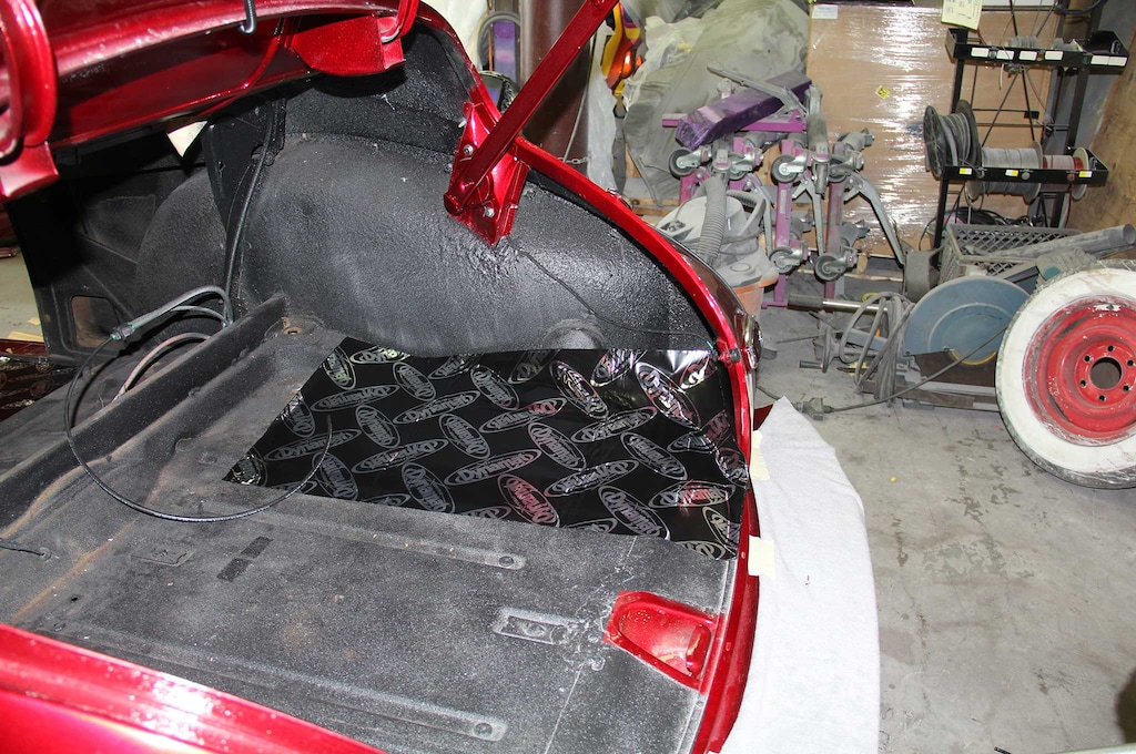 Adding Dynamat S Sound Insulation To A Chevy Fleetline