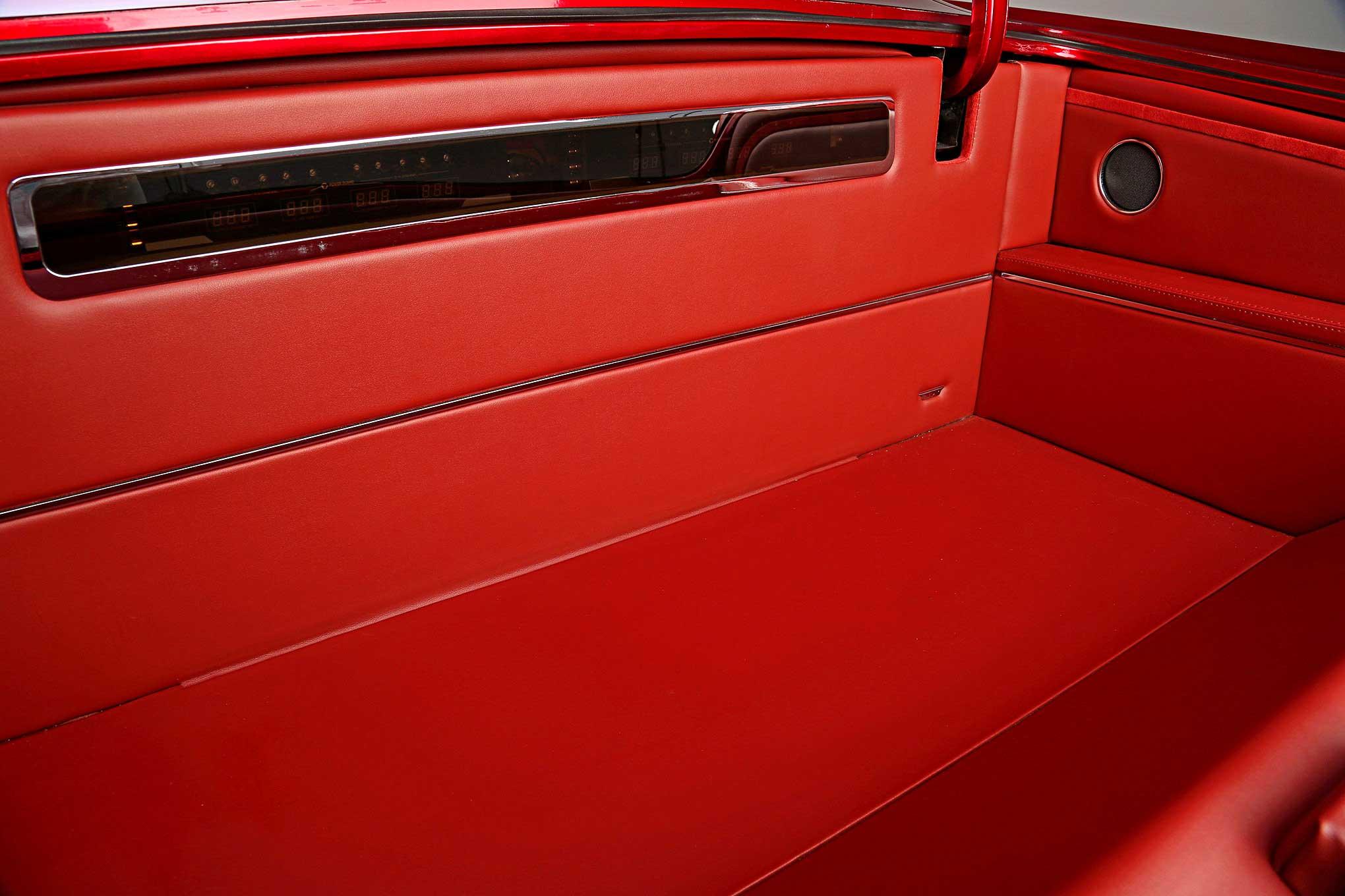 1965 Chevrolet Impala Custom Trunk Panels Lowrider