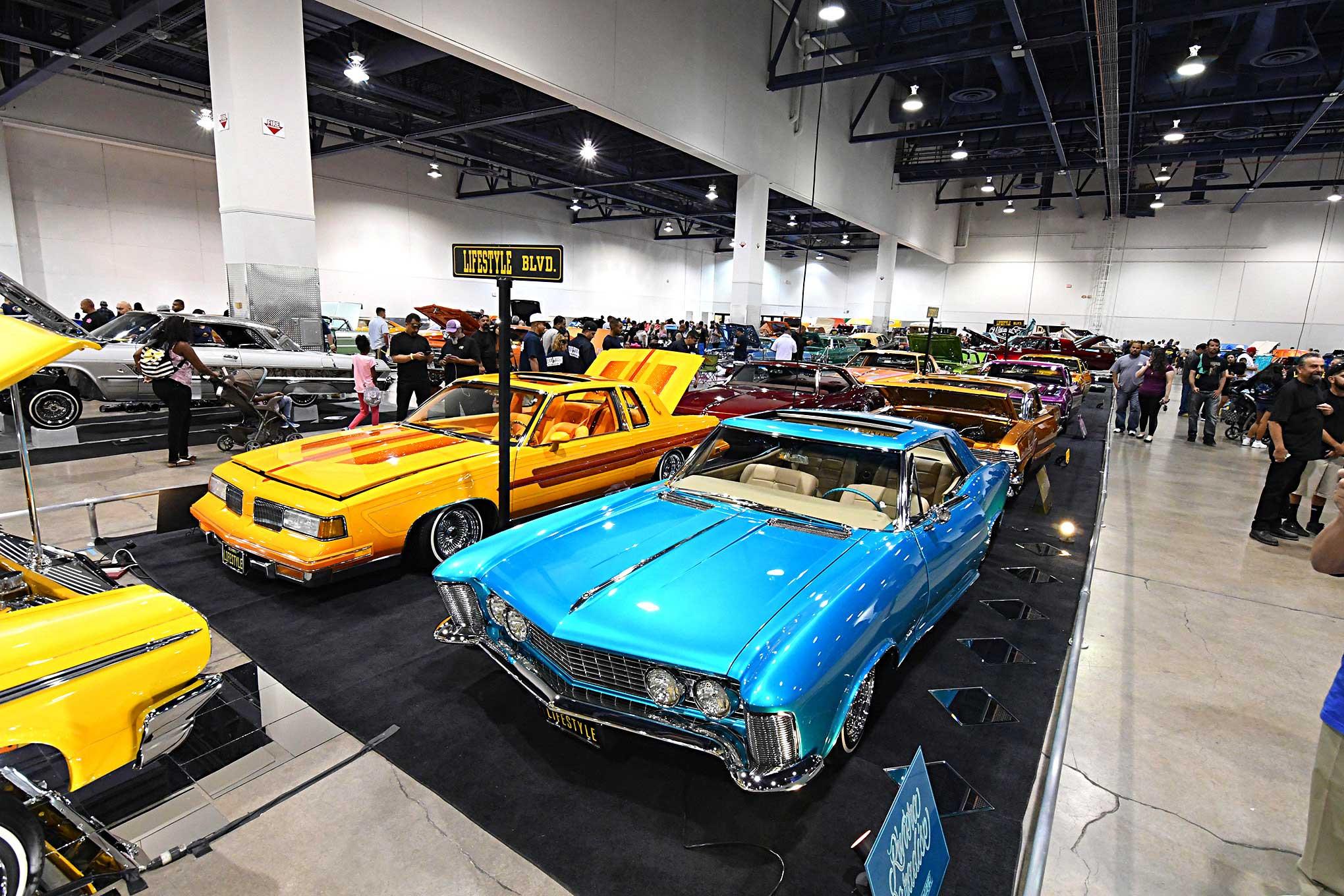 2017 Las Vegas Super Show Lifestyle Car Club Cars - Lowrider
