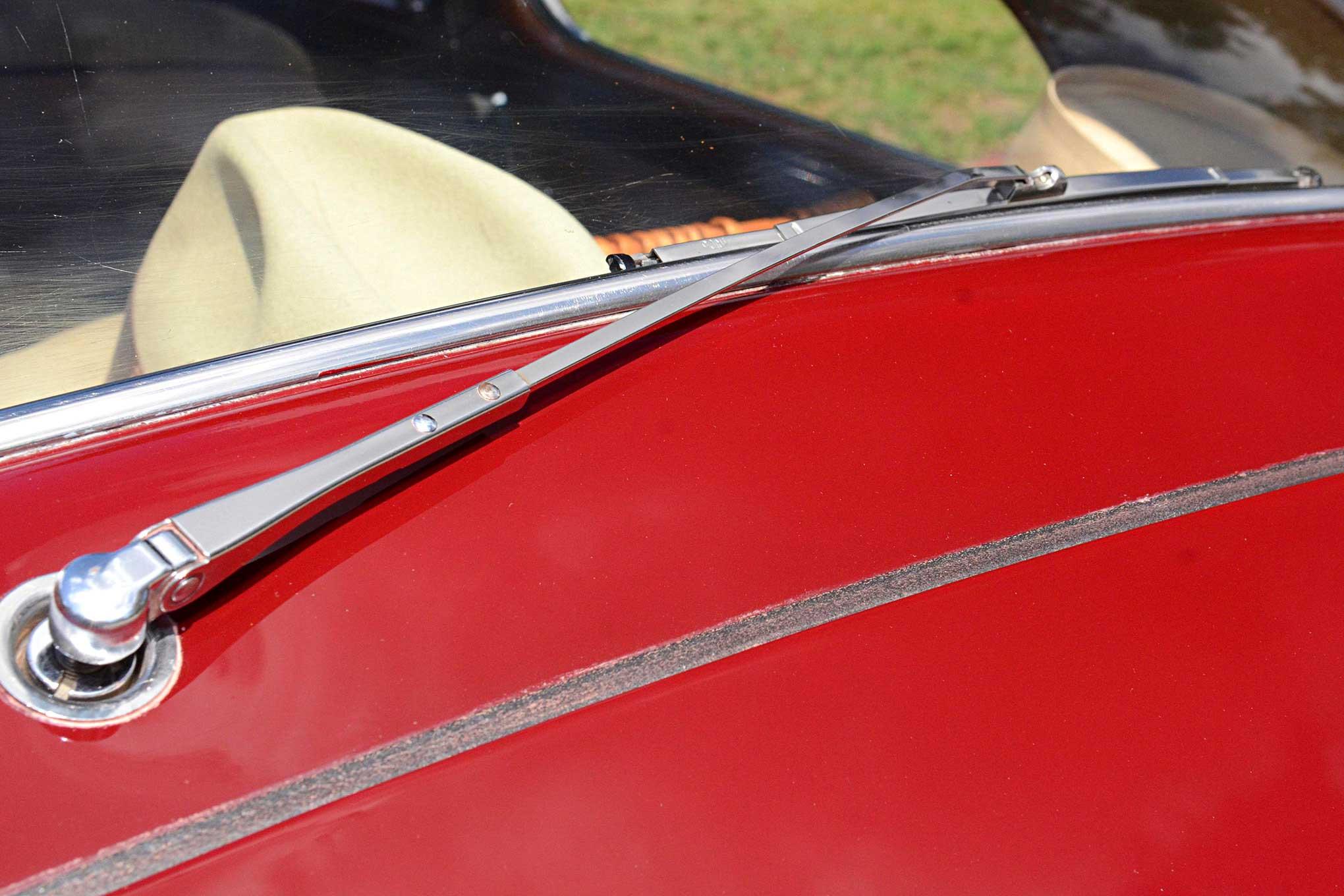 1948 Chevrolet Fleetline Rear Wiper