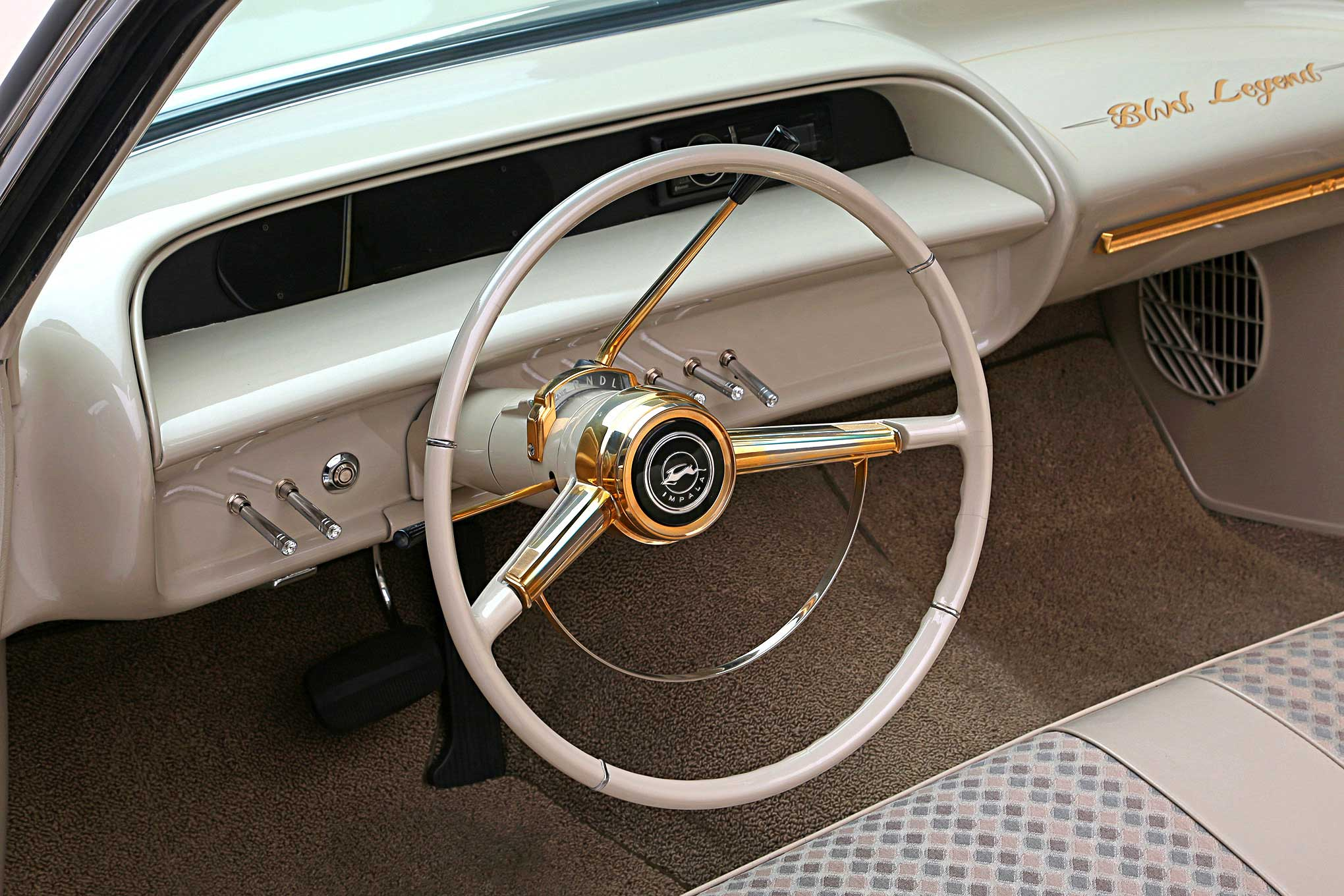 1964 Chevrolet Impala Steering Wheel Lowrider About This Editor