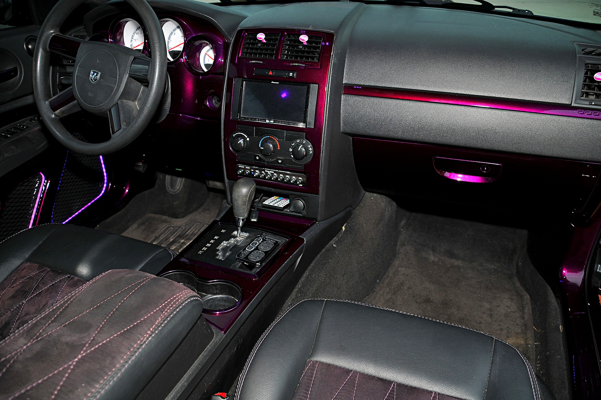 2008 Dodge Charger Dash Lowrider