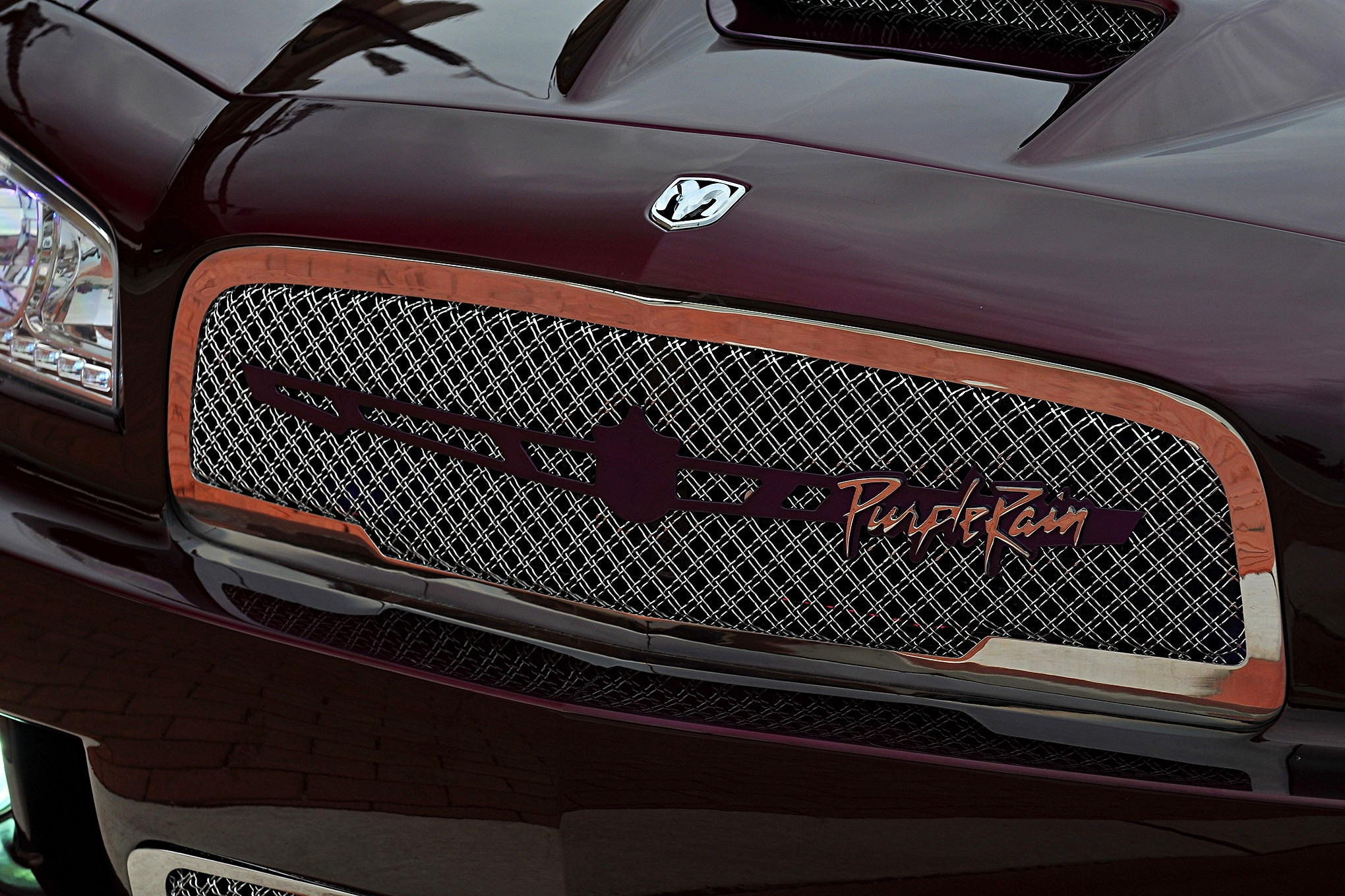 2008 Dodge Charger Grill Lowrider