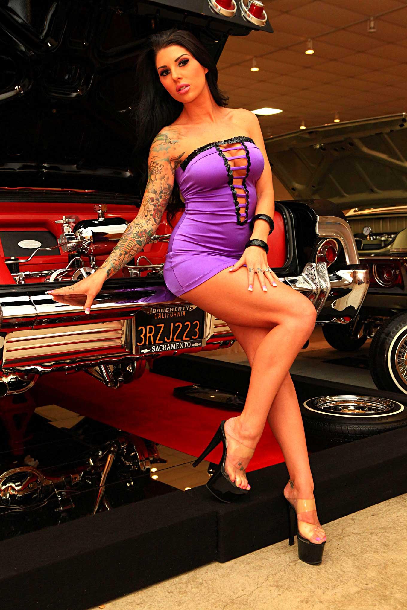 Car Show Models Of Darling Danika Lowrider - Car show models