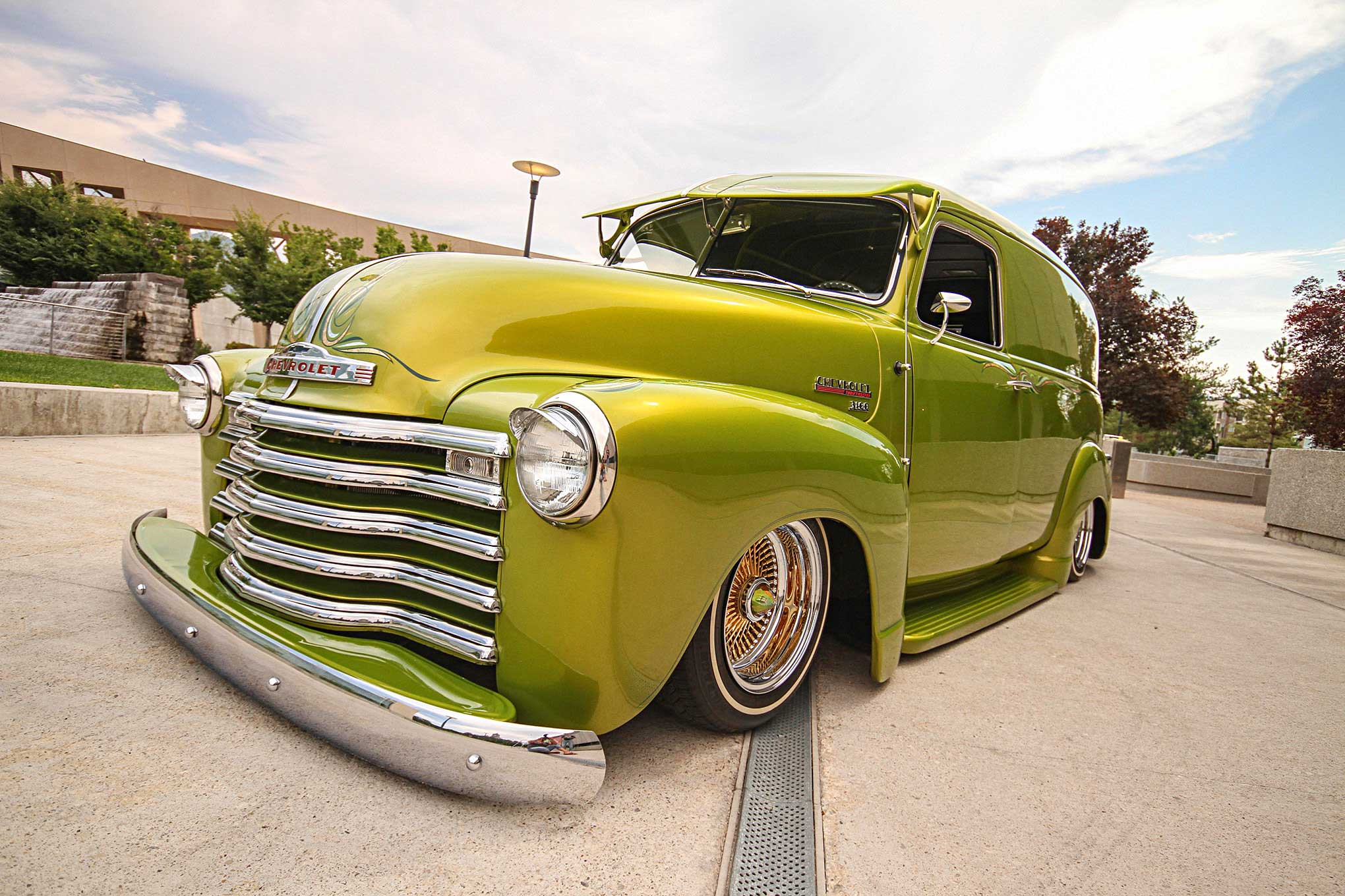 1948 Chevy Panel Unbreakable Ford Truck 1 31