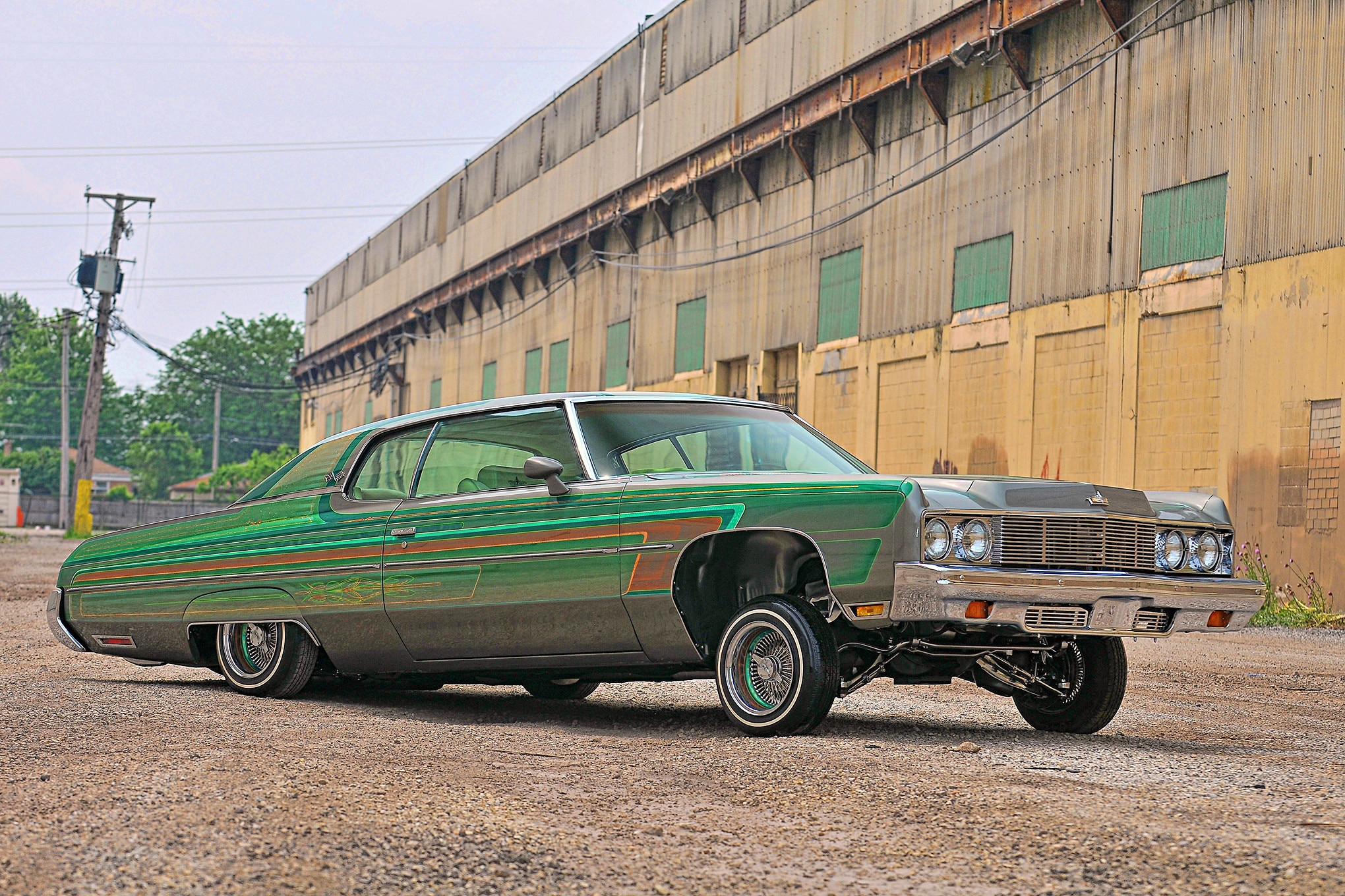 a 73 chevy caprice classic that s not afraid of the elements a 73 chevy caprice classic that s not
