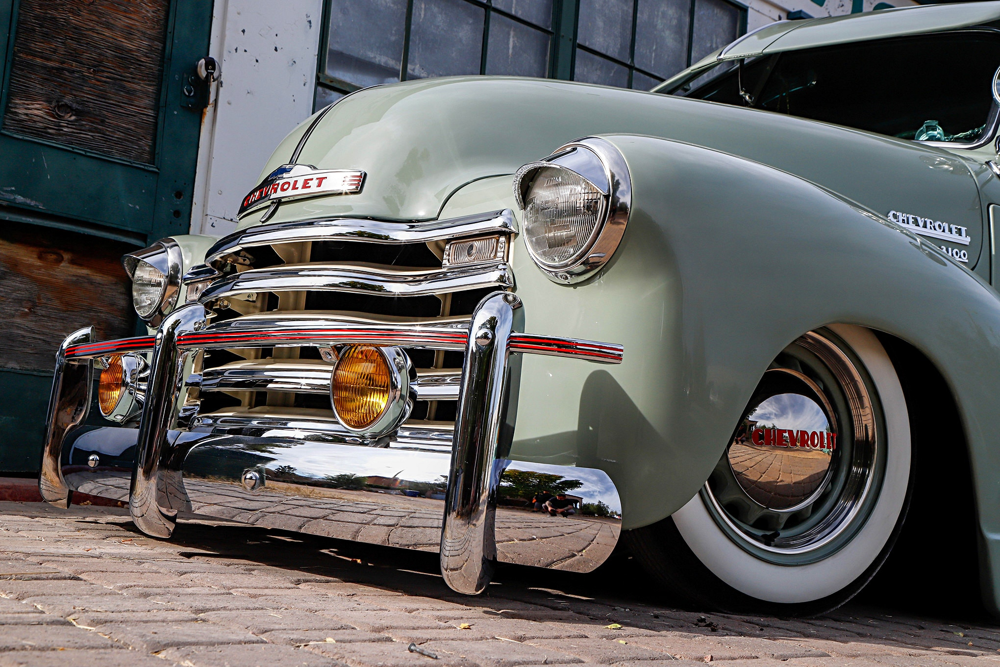 1950 Chevrolet 3100 Front Bumper Guards - Lowrider