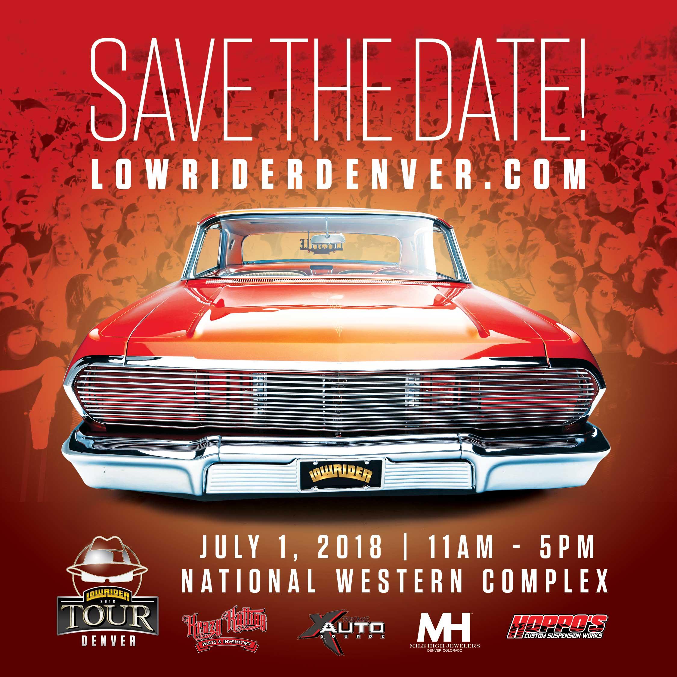 LOWRIDER Denver Show - Classic car show denver