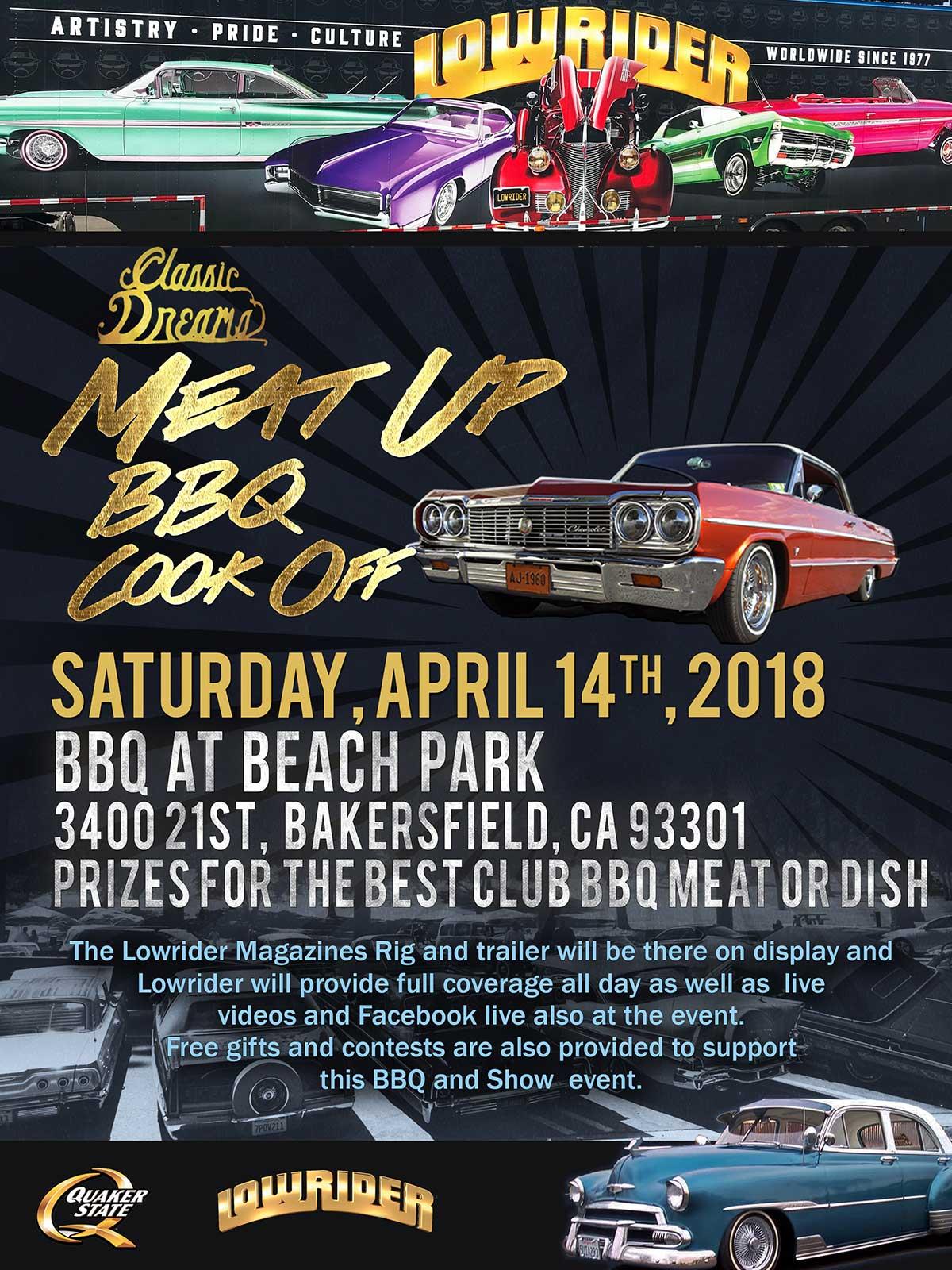 Lowrider MeatUp Bakersfield - Bakersfield car show