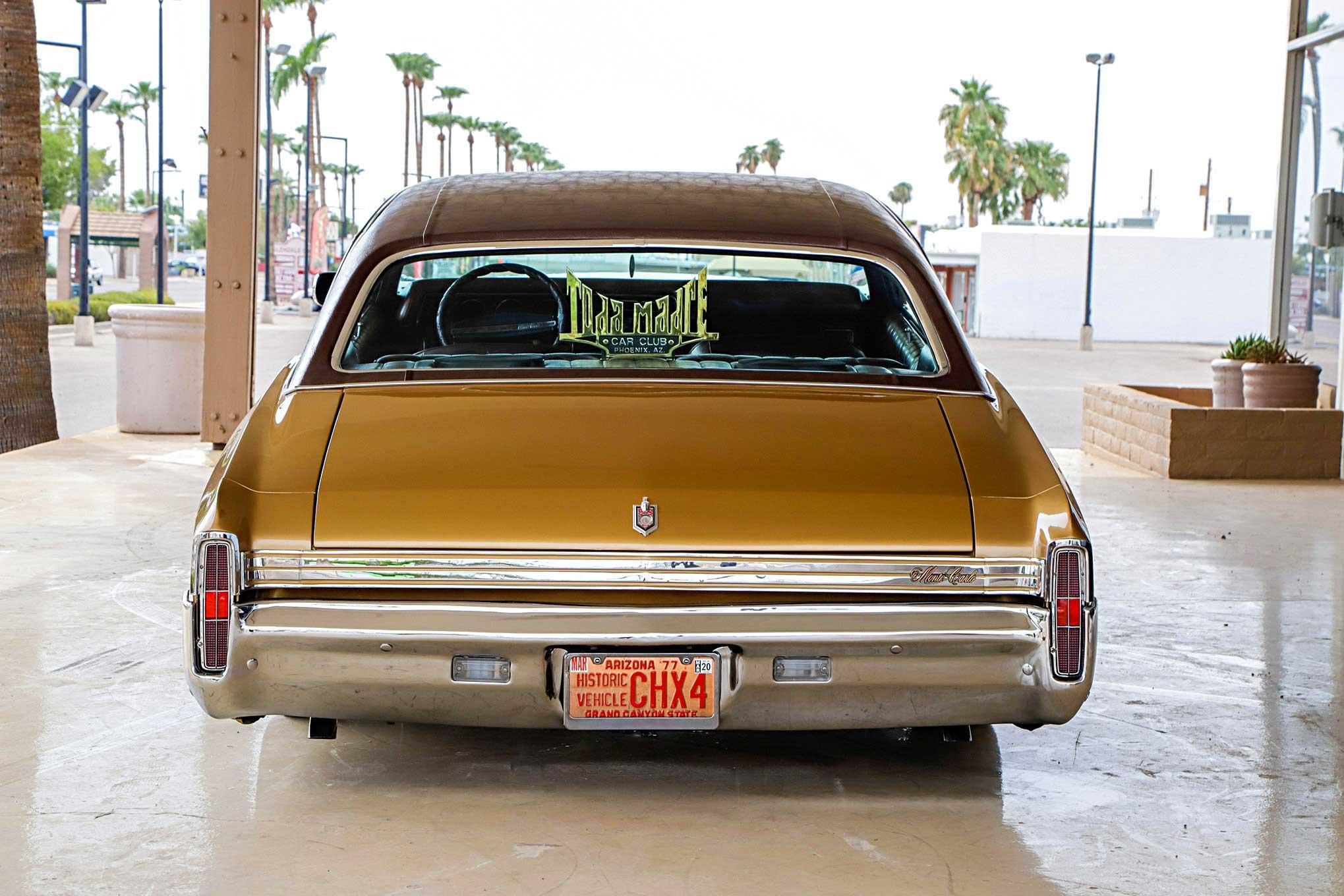 1972 Chevrolet Monte Carlo Rear Bumper