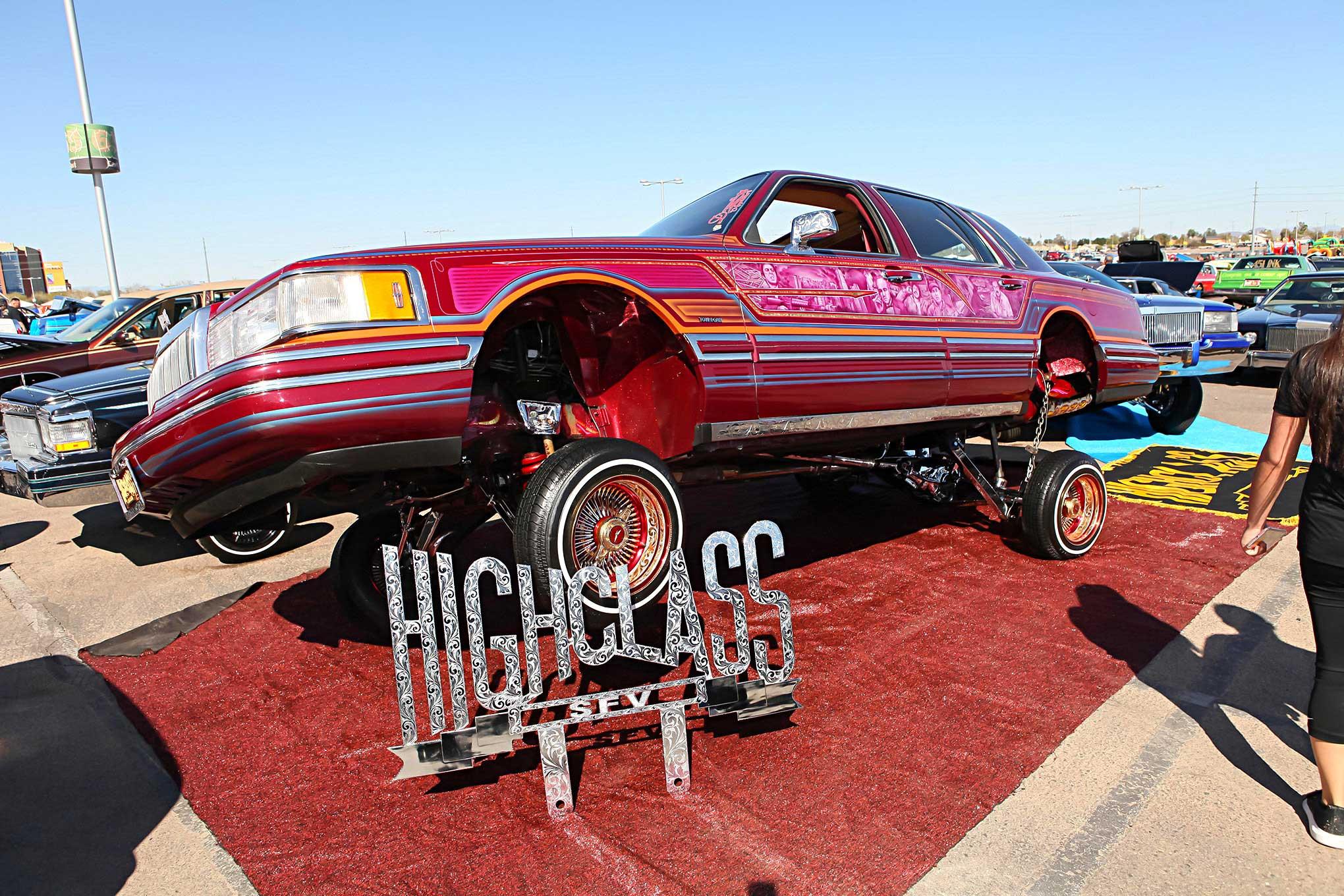 2018 Arizona Super Show Highclass Cc Lincoln Town Car Lowrider
