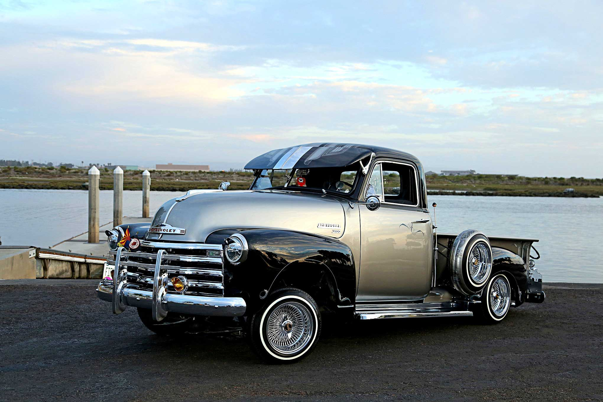 1951 Chevrolet 3100 Driver Side Front View 01 Lowrider