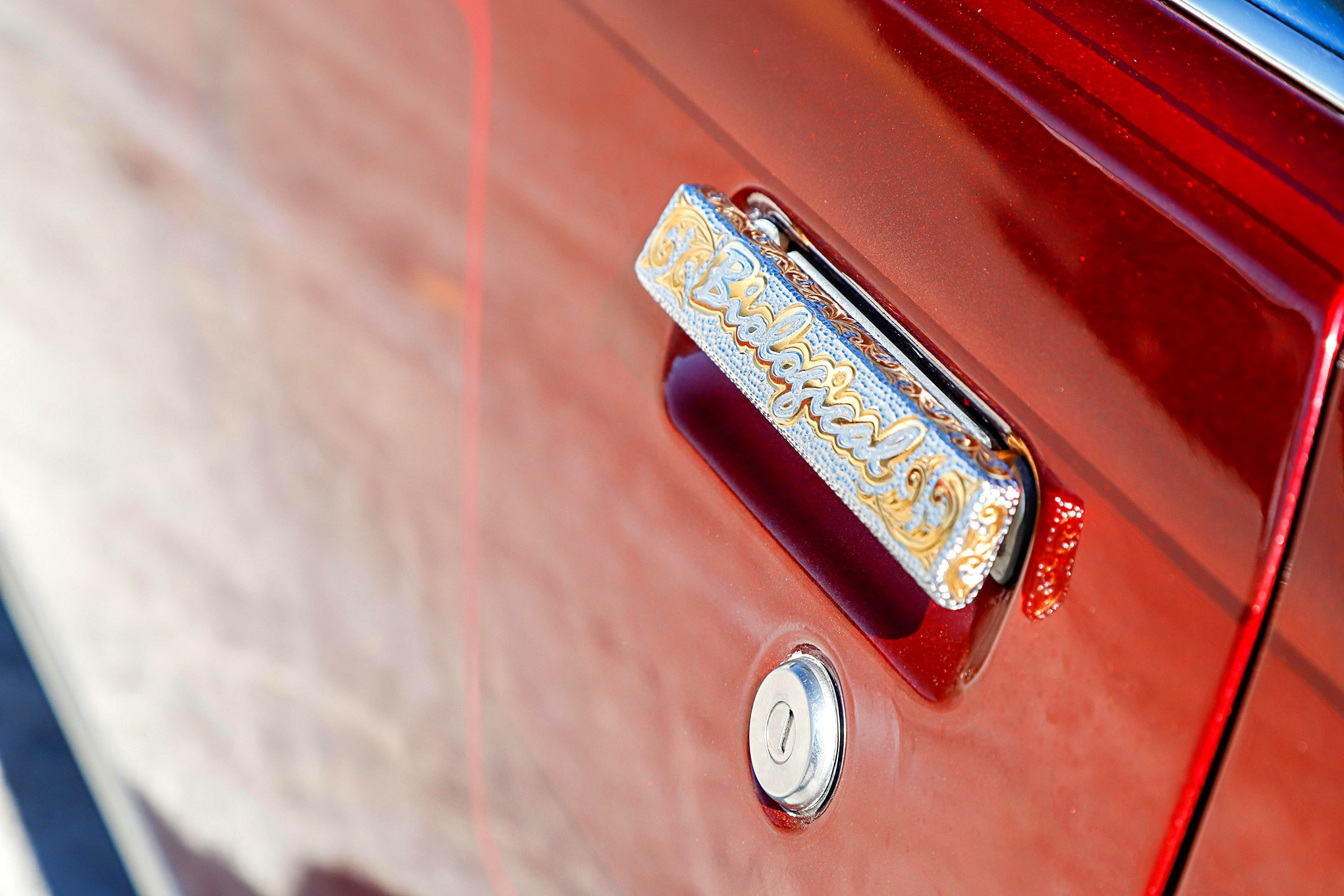 about this editor & 1987 Oldsmobile Cutlass Supreme Engraved Door Handle - Lowrider