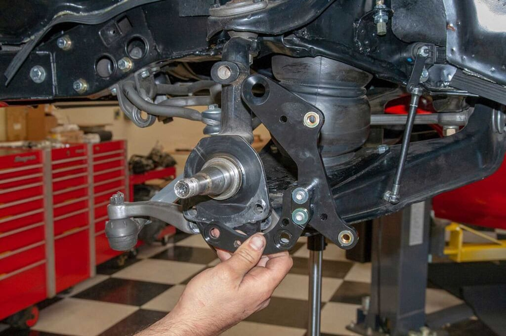 Wilwood Disc Brake Impala Kit Spindle on 1964 chevy impala suspension