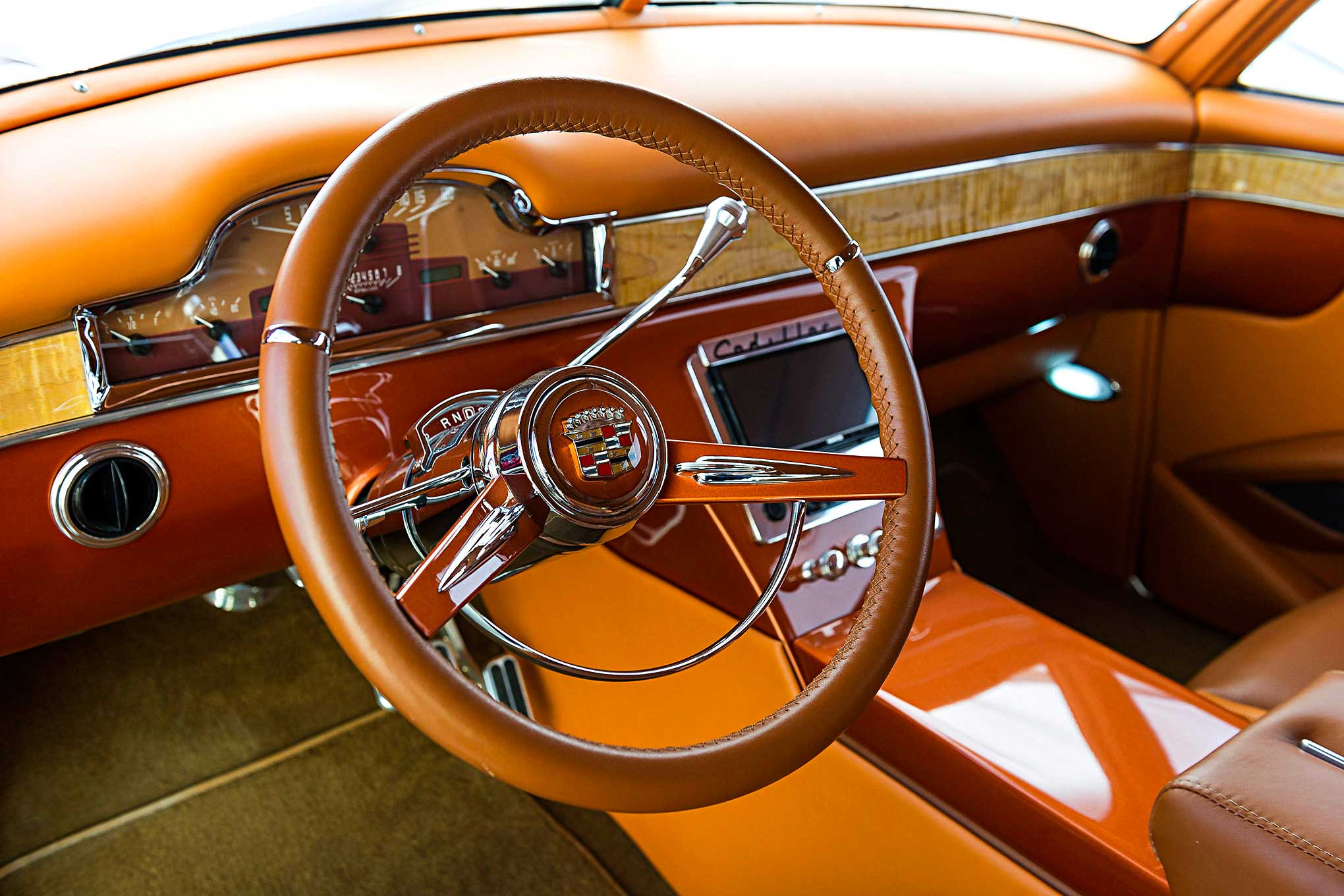 Cadillac Sedanette Con R Series One Steering Wheel