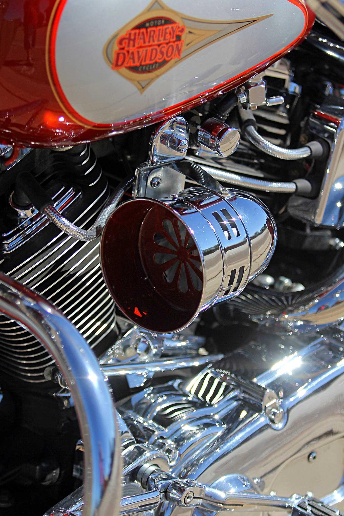 1999 Harley Davidson Heritage Softail Ride Of Passage