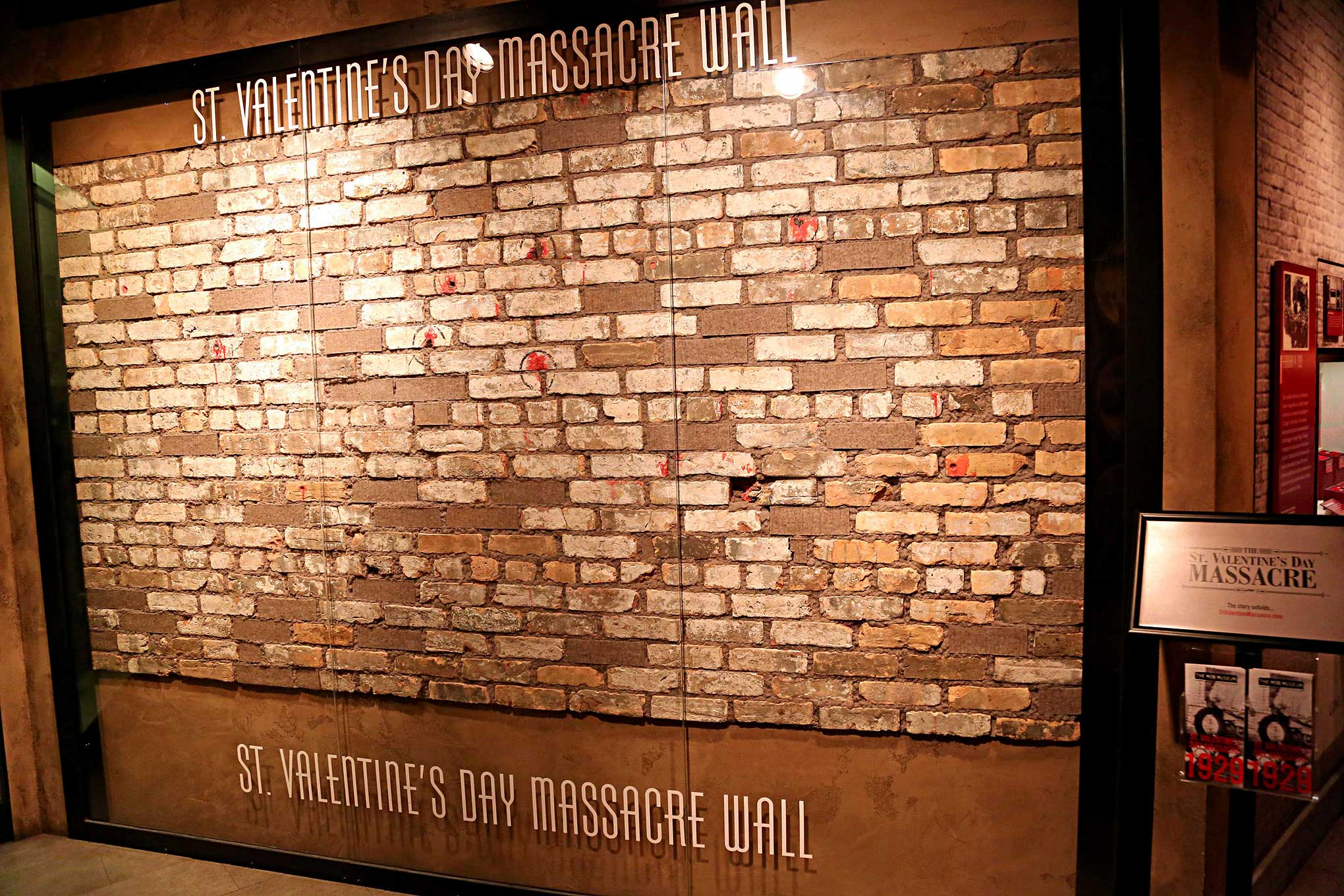 Mob Museum St Valentine Day Massacre Wall Lowrider