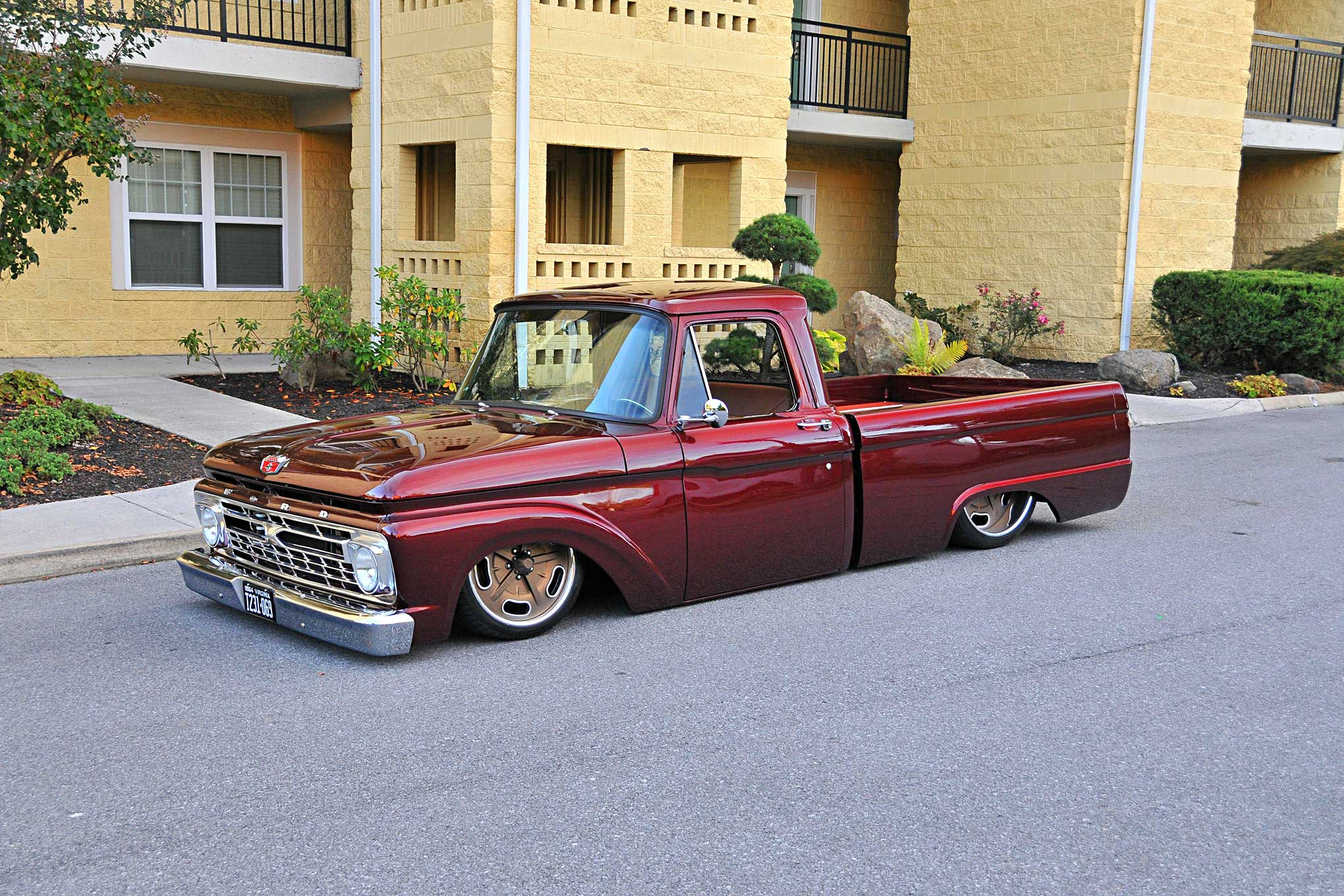 1964 Ford F100 Driver Side Front View Lowrider Pickup Truck About This Editor