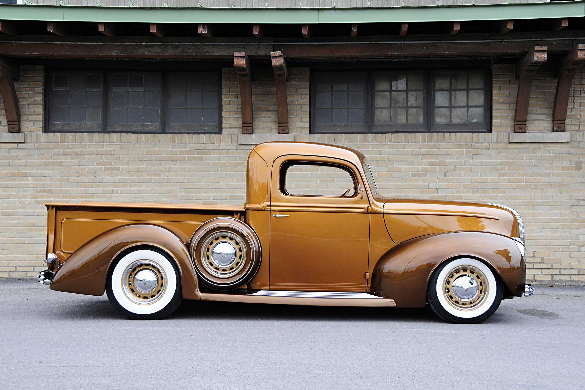 1941 Ford Pickup Passenger Side Profile Lowrider Truck Interior About This Editor