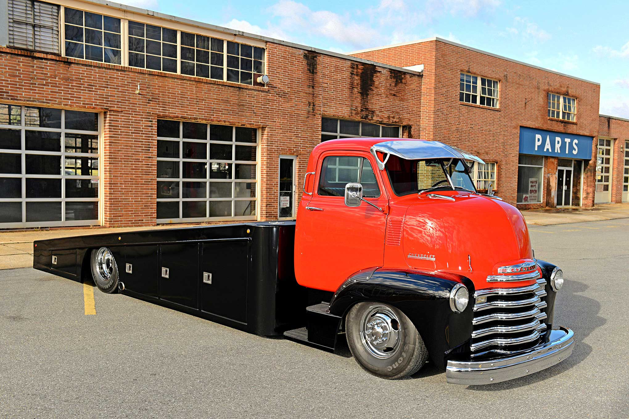 1952 Chevy Coe Send It Cod Cab Over Diesel