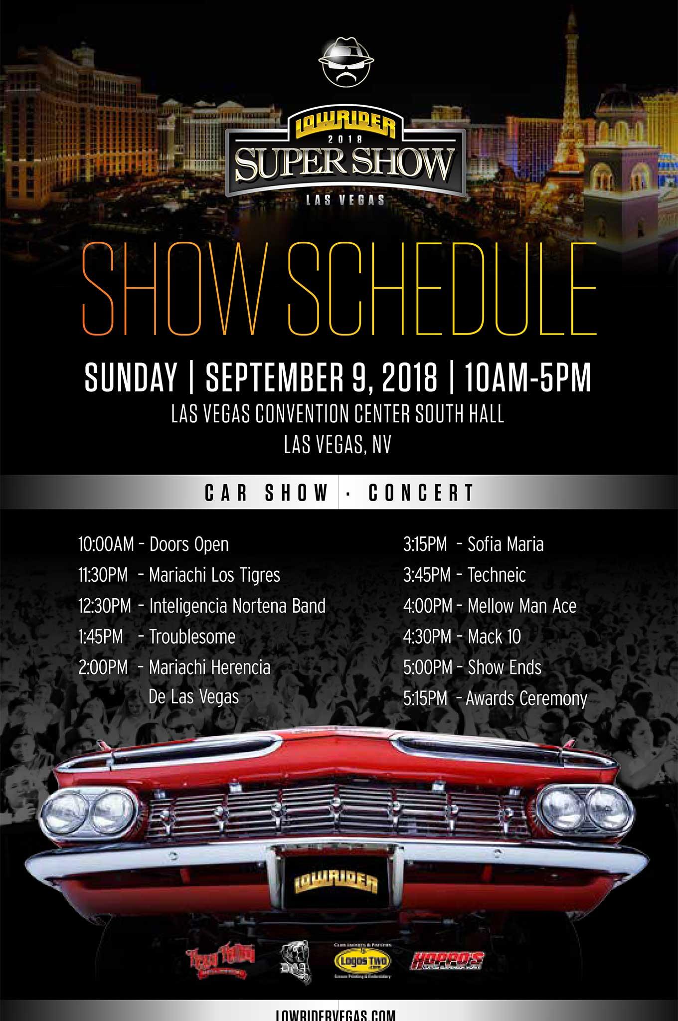 Las Vegas Super Show - Car show in vegas 2018