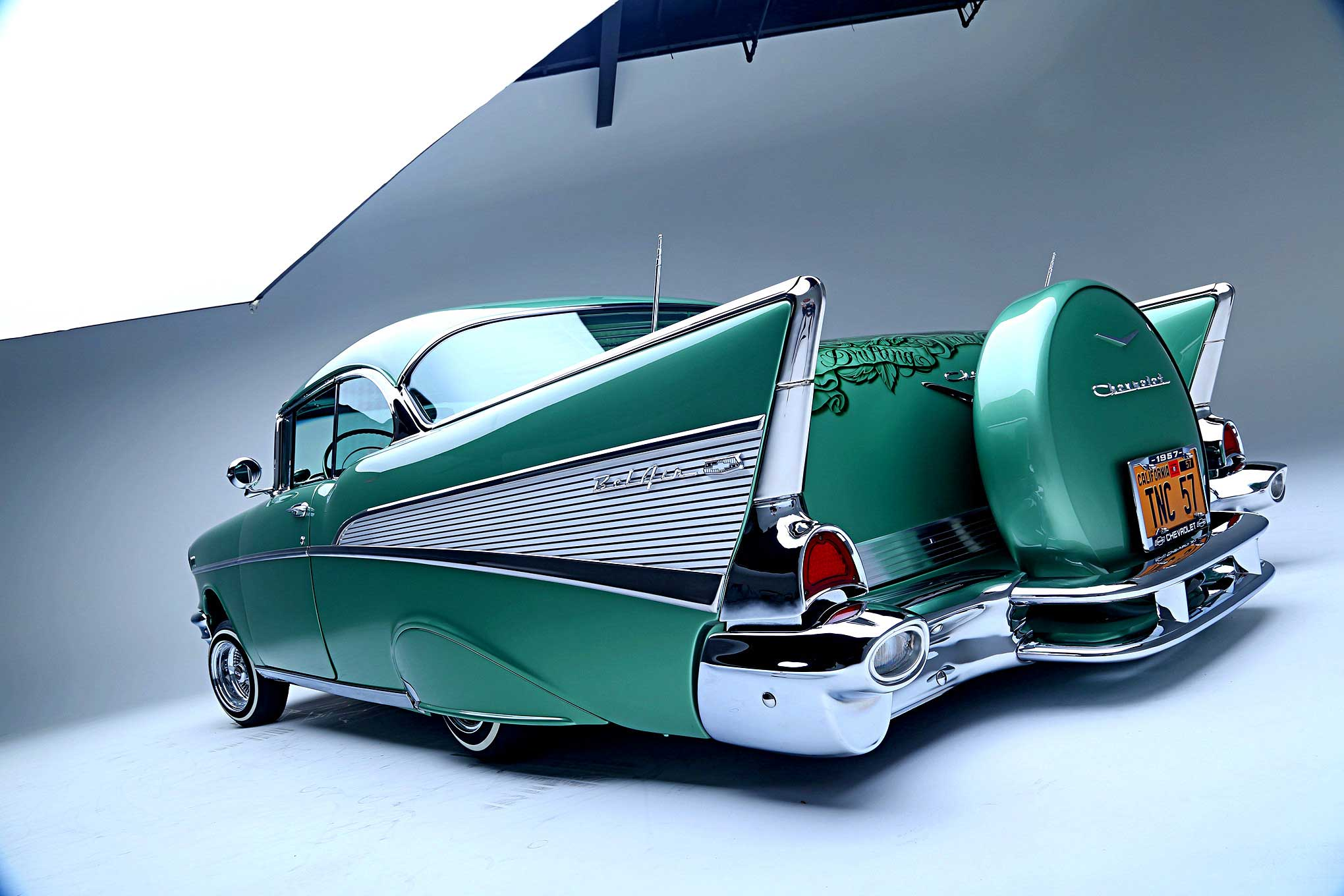 1957 Chevrolet Bel Air Tail Fin Lowrider Chevy Impala About This Editor