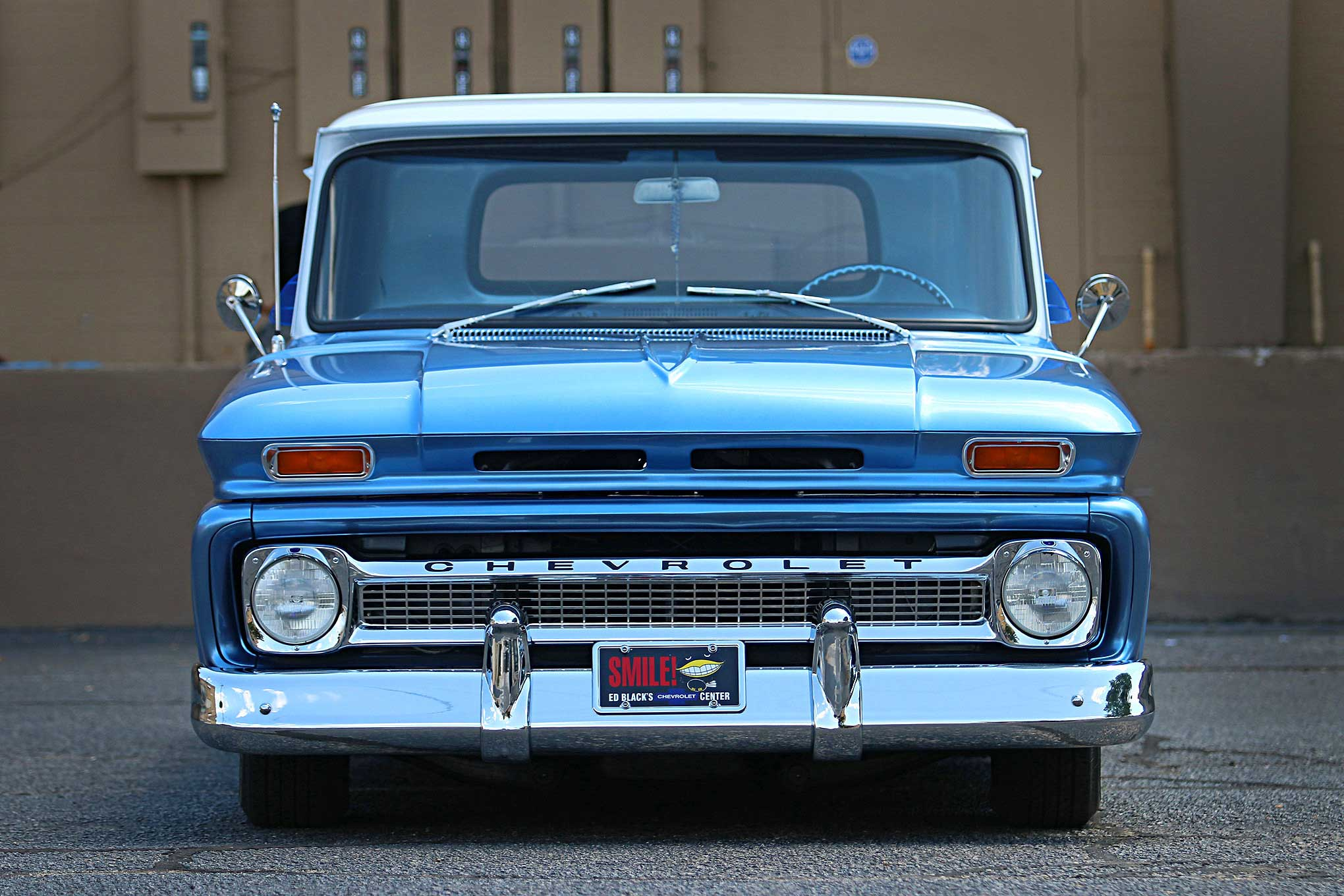 1966 Chevrolet C10 A Gift Of Love Pick Up 21 29