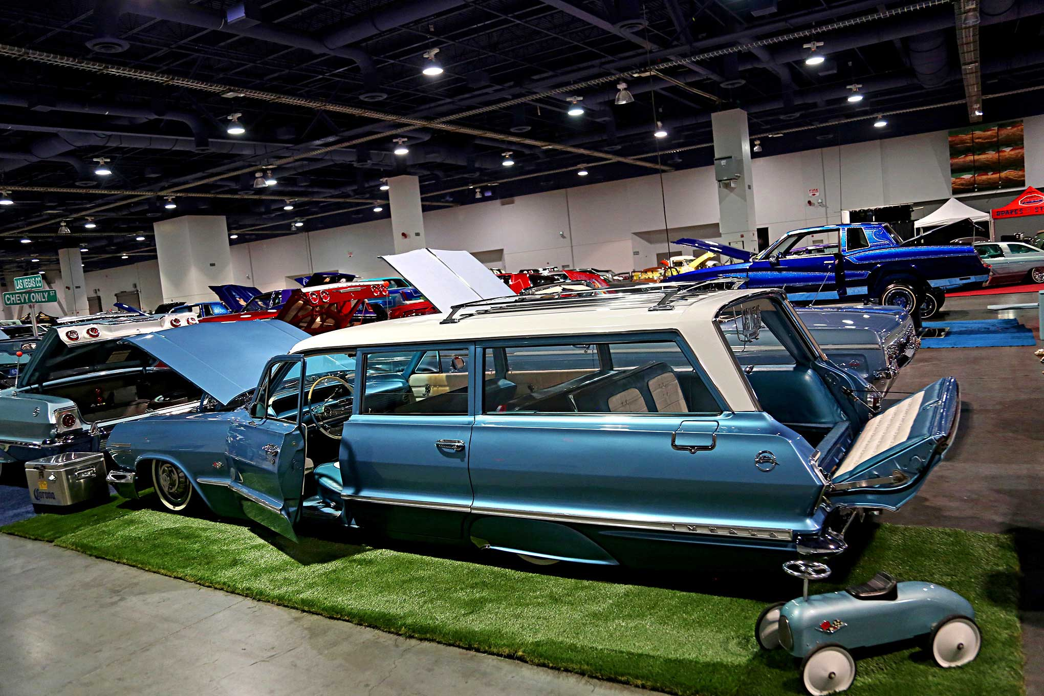 Chevy Las Vegas >> Wagons Of The 2018 Las Vegas Super Show 1963 Chevy Impala Wagon