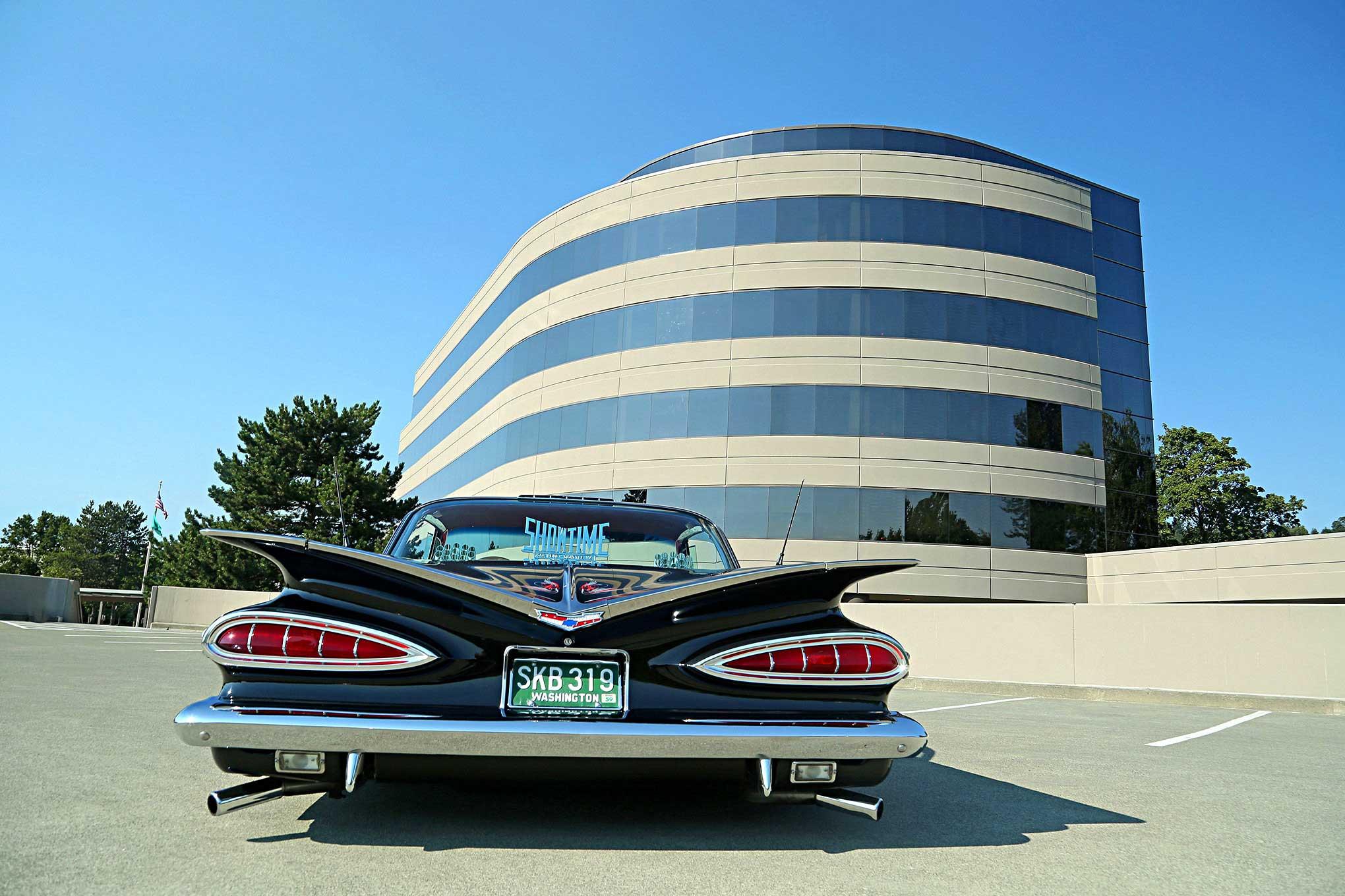 1959 Chevrolet Impala Og 59 Chevy Rear Wiring Harness 17 37