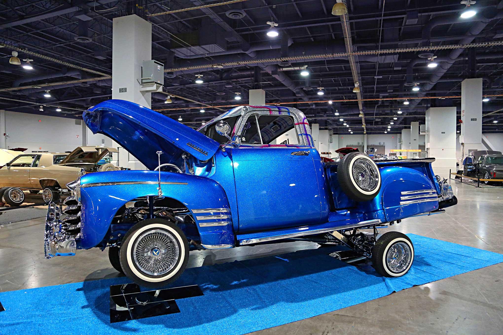 Chevy Las Vegas >> 2018 Las Vegas Super Show The Junk Chevy 3100 Lowrider