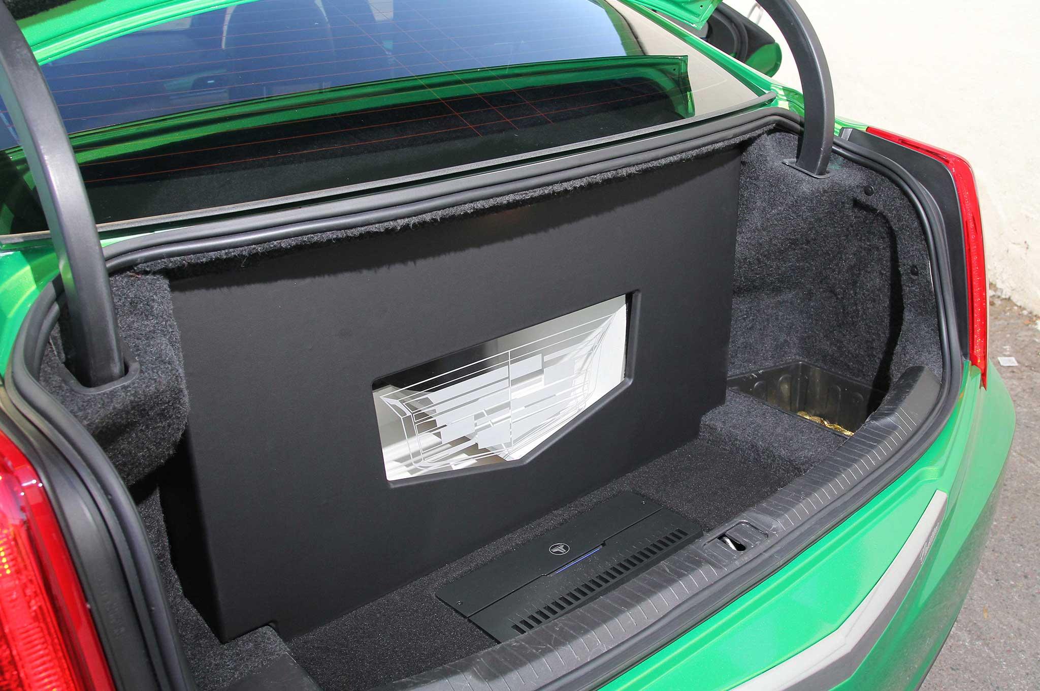 2013 Cadillac Ats Custom Subwoofer Enclosure Lowrider