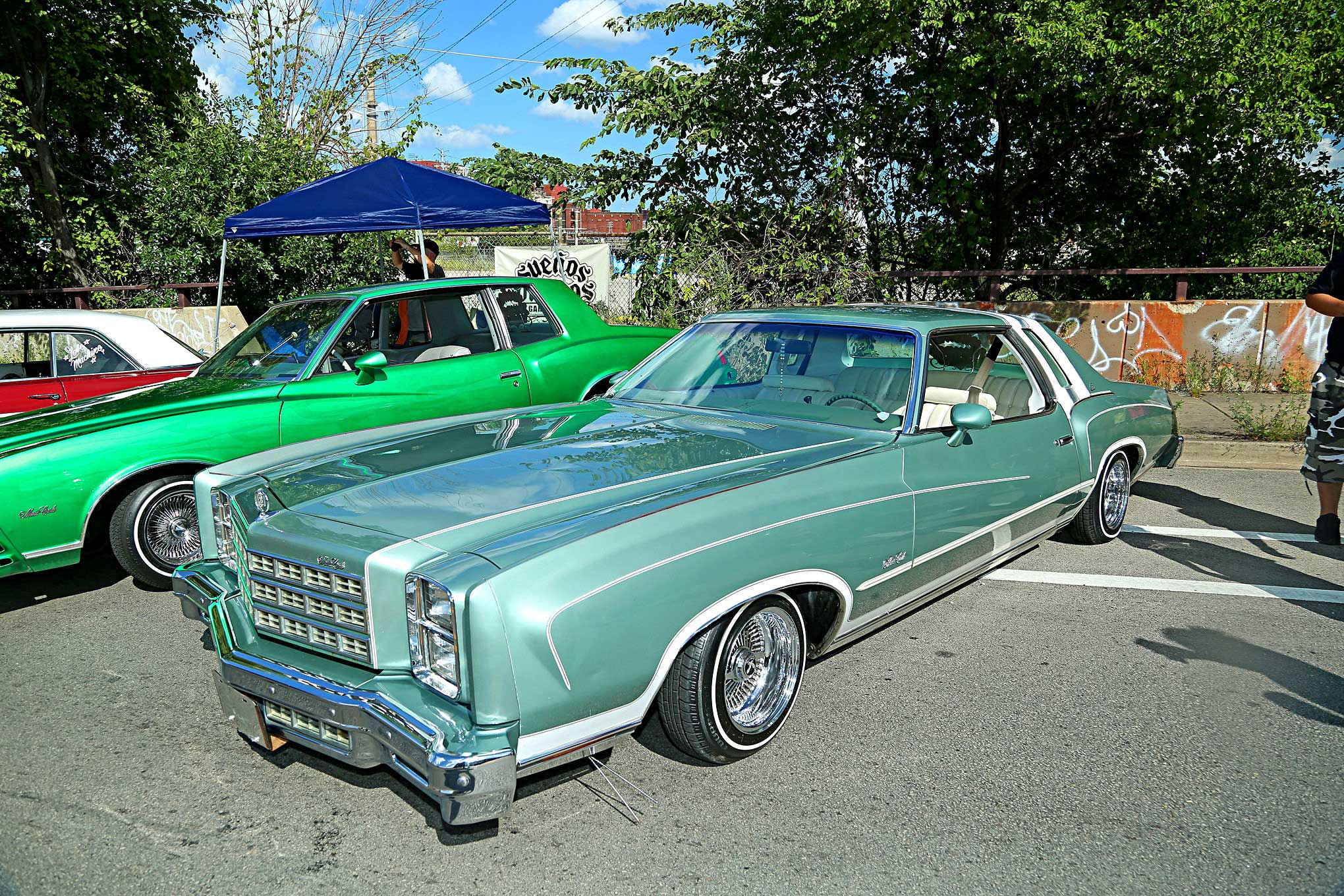 2018 Slow And Low Festival 1977 Monte Carlo Lowrider