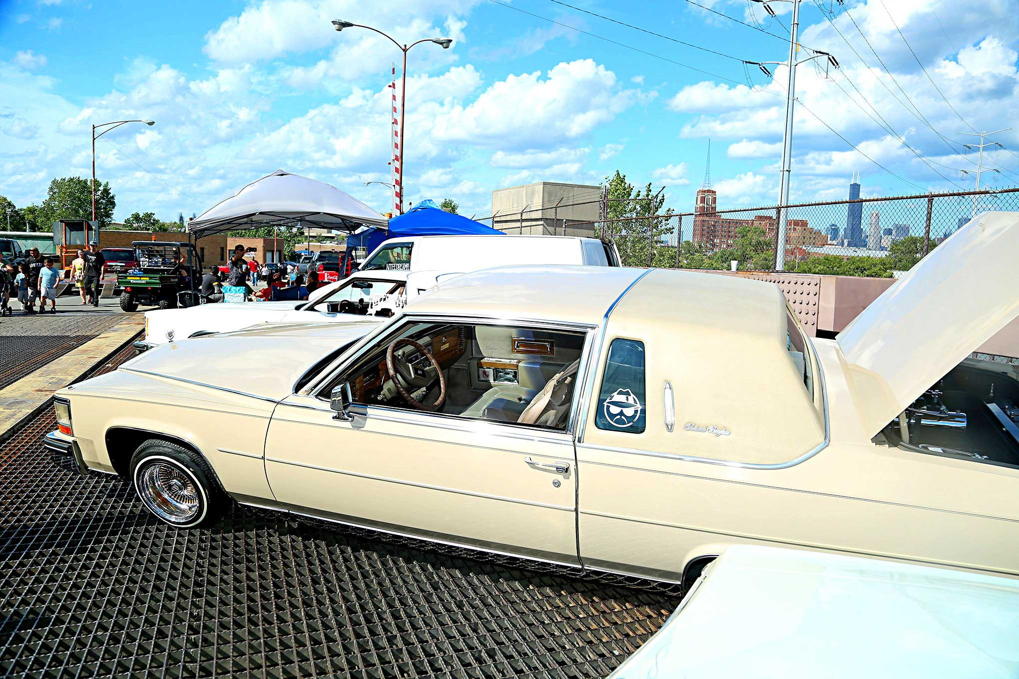 2018 Slow And Low Festival Cadillac Fleetwood Brougham Lowrider
