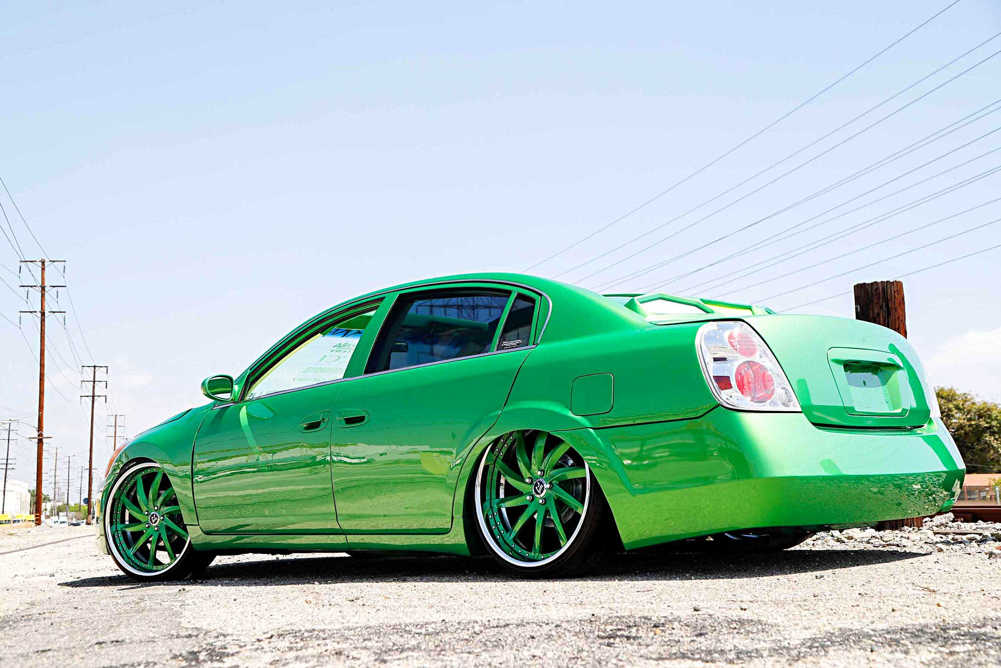 2005 nissan altima a reminder of dadNissan Altima Lowrider #4