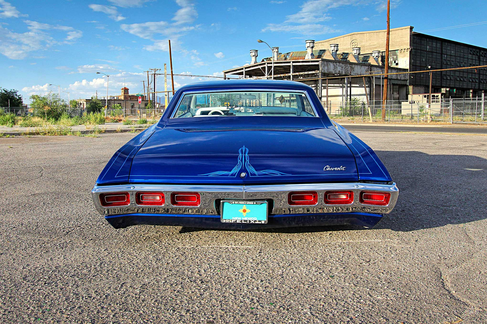 1969 Chevrolet Impala Blue Moon