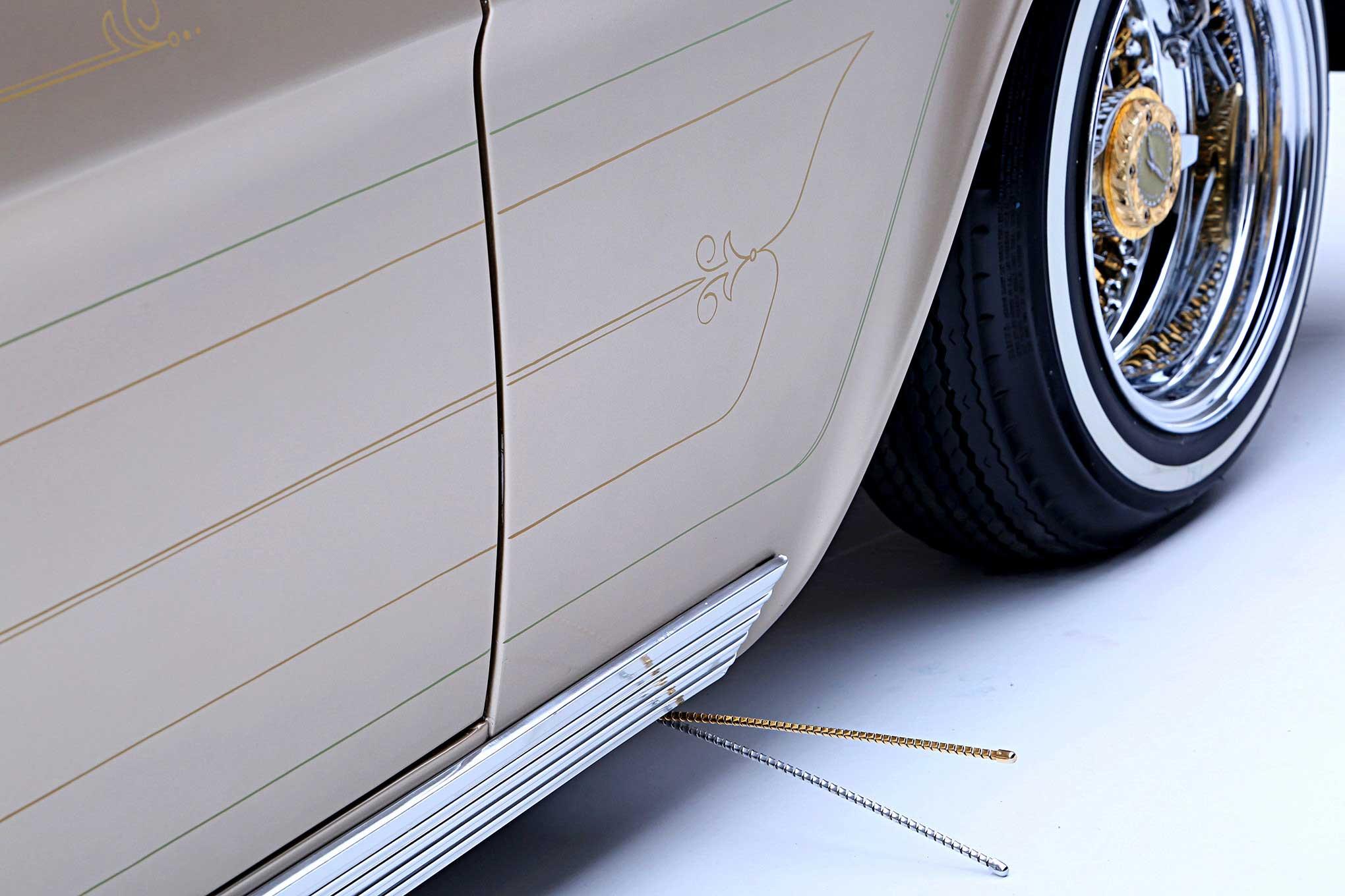 1962 chevrolet bel air wagon curb feeler lowrider
