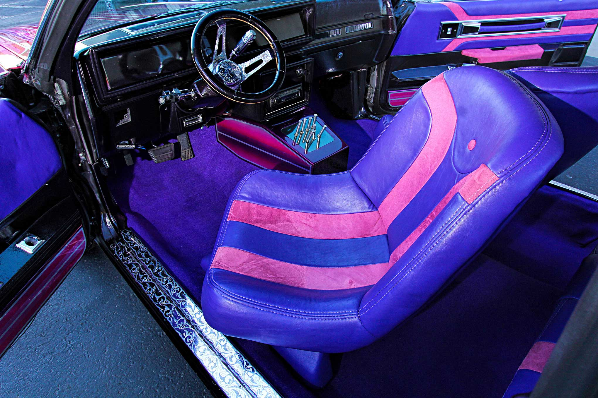 1985 Oldsmobile Cutlass Swivel Driver Seat - Lowrider
