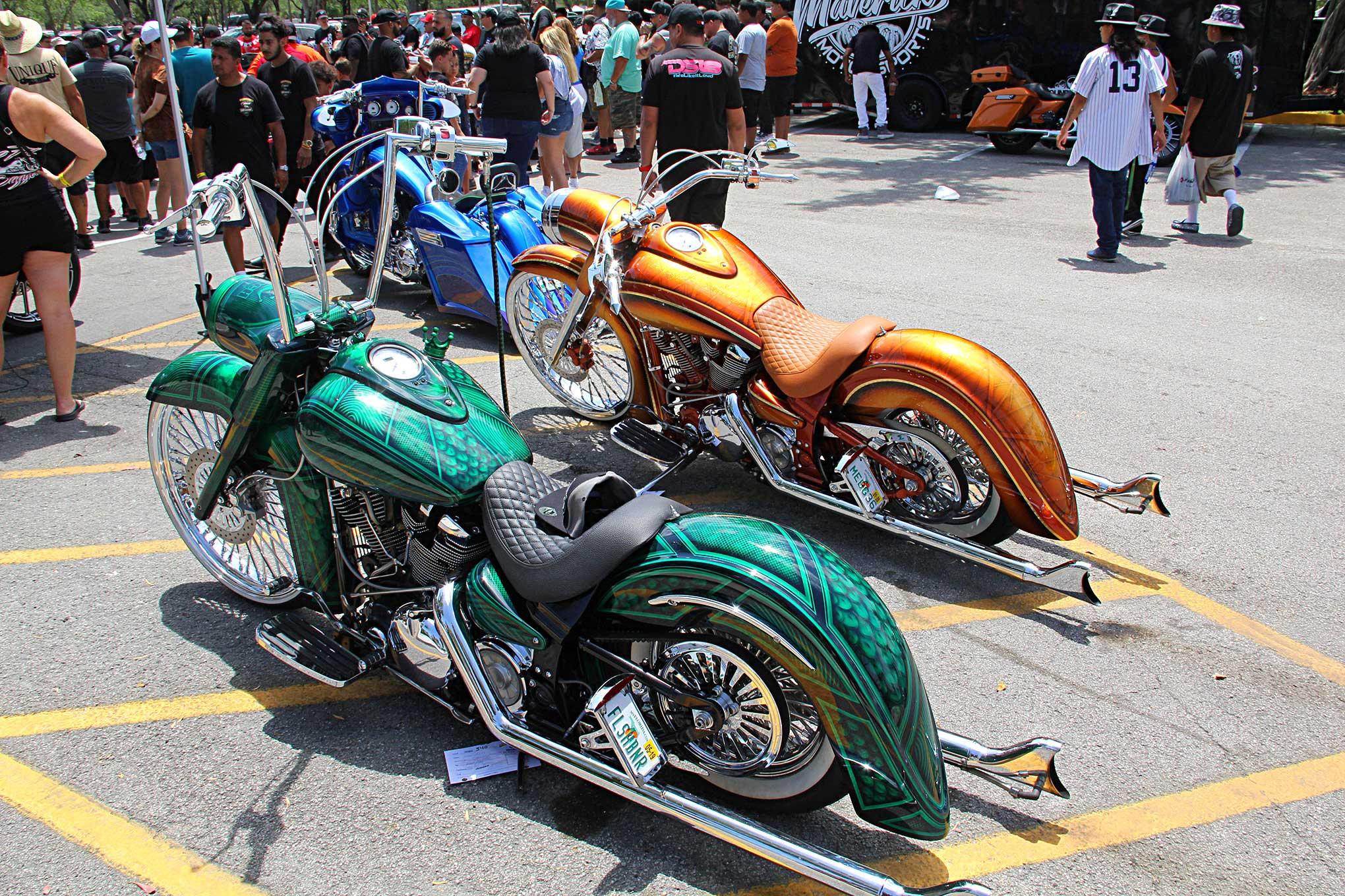 2019 Lowrider Miami Super Show Custom Motorcycles Lowrider