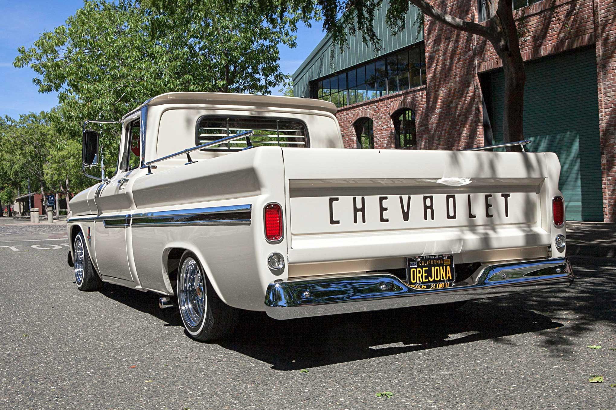 1963 Chevrolet C10 A Teacher S Influence